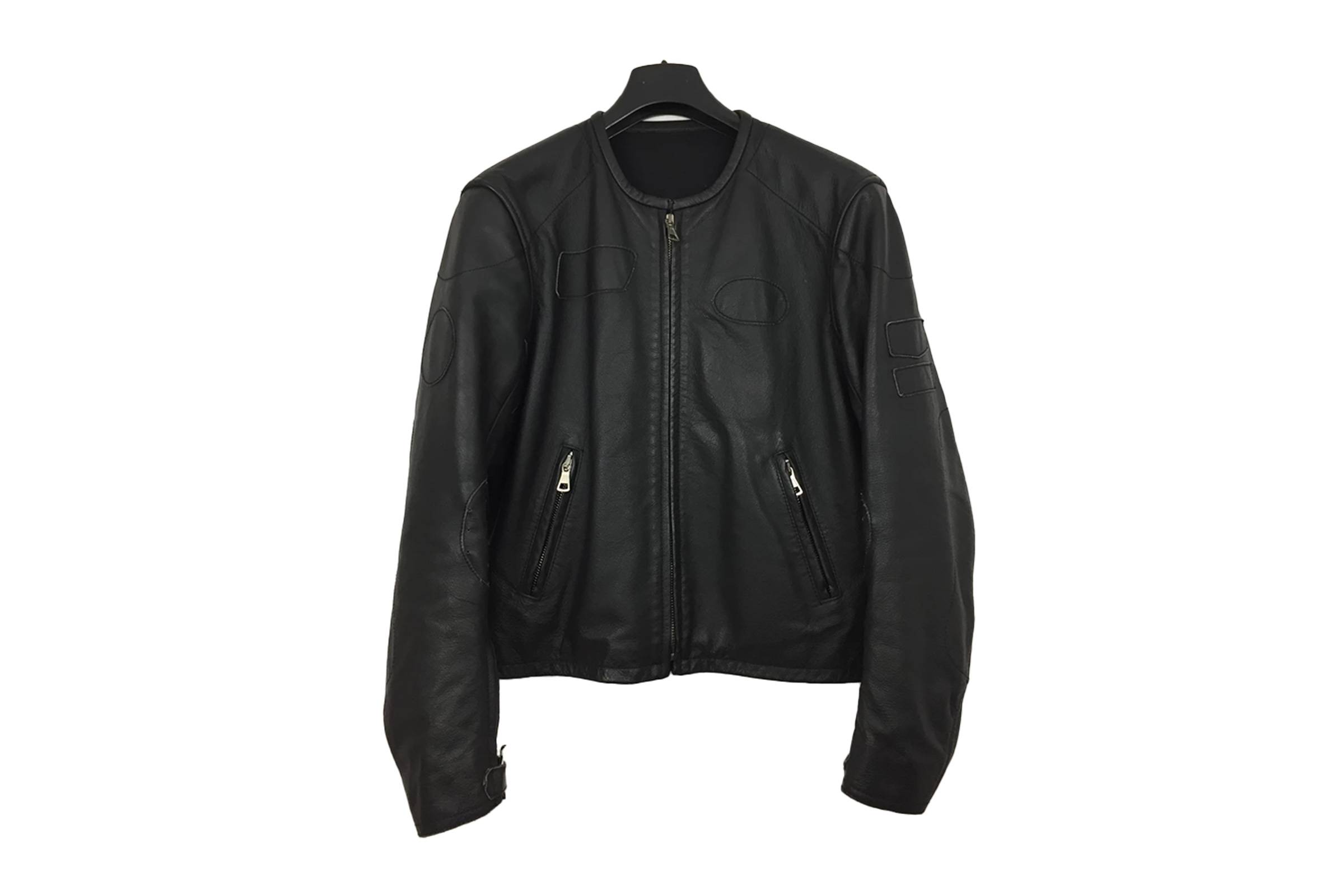 Maison Margiela Spring/Summer 2002 Patched Cafe Racer Jacket