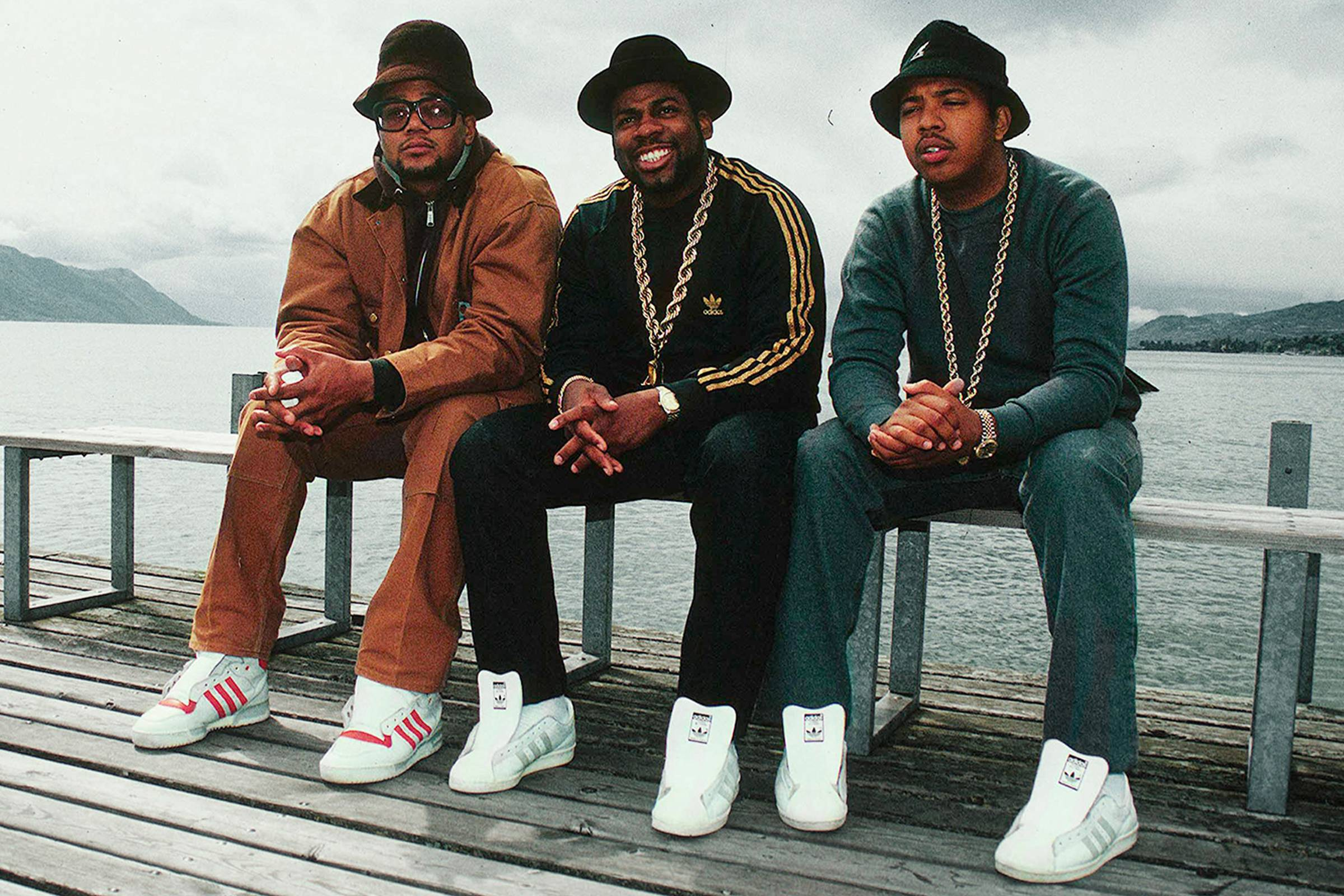 Run-DMC in adidas Superstars