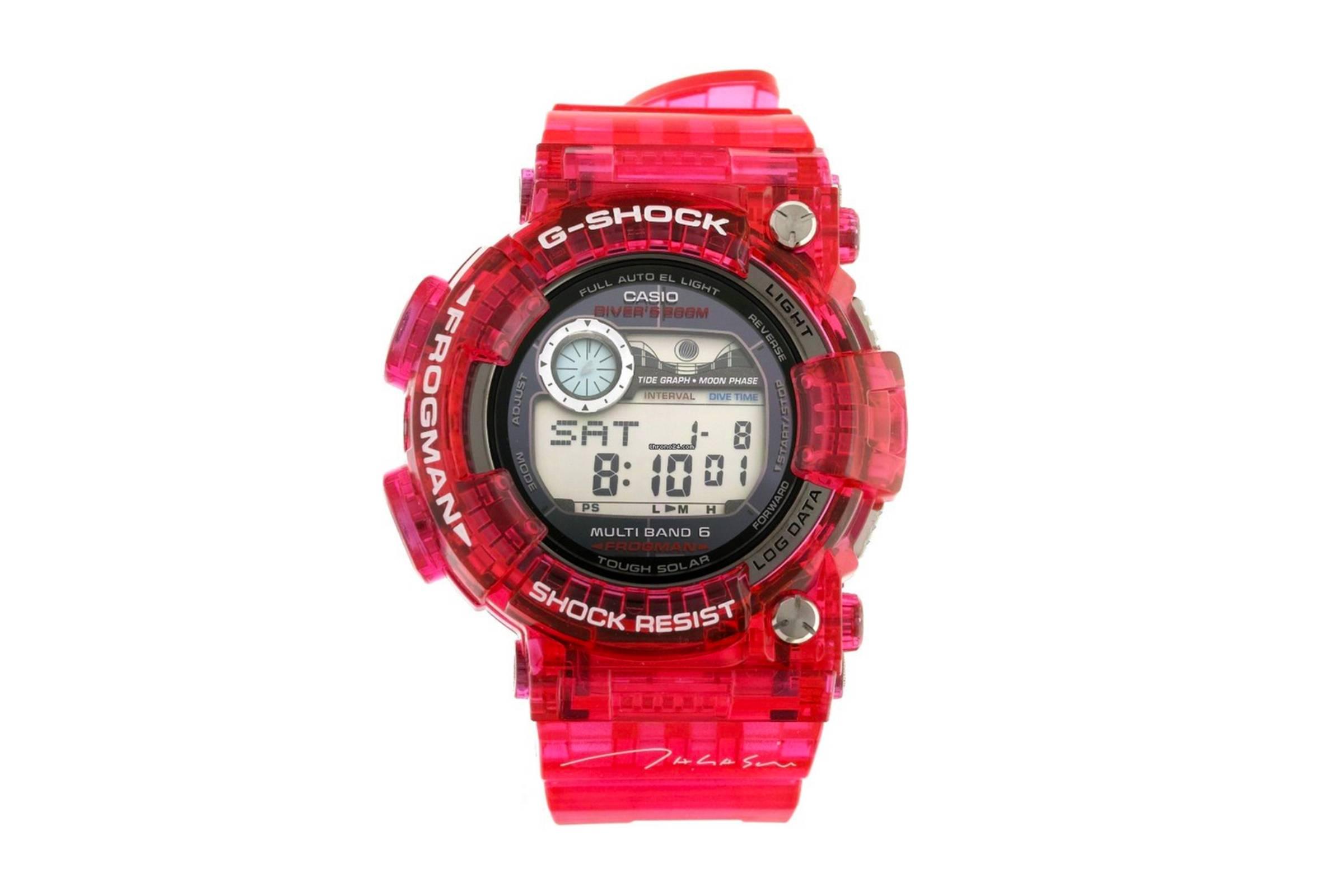 Takashi Murakami x Casio G-Shock Frogman GWF-1000TM-4JR