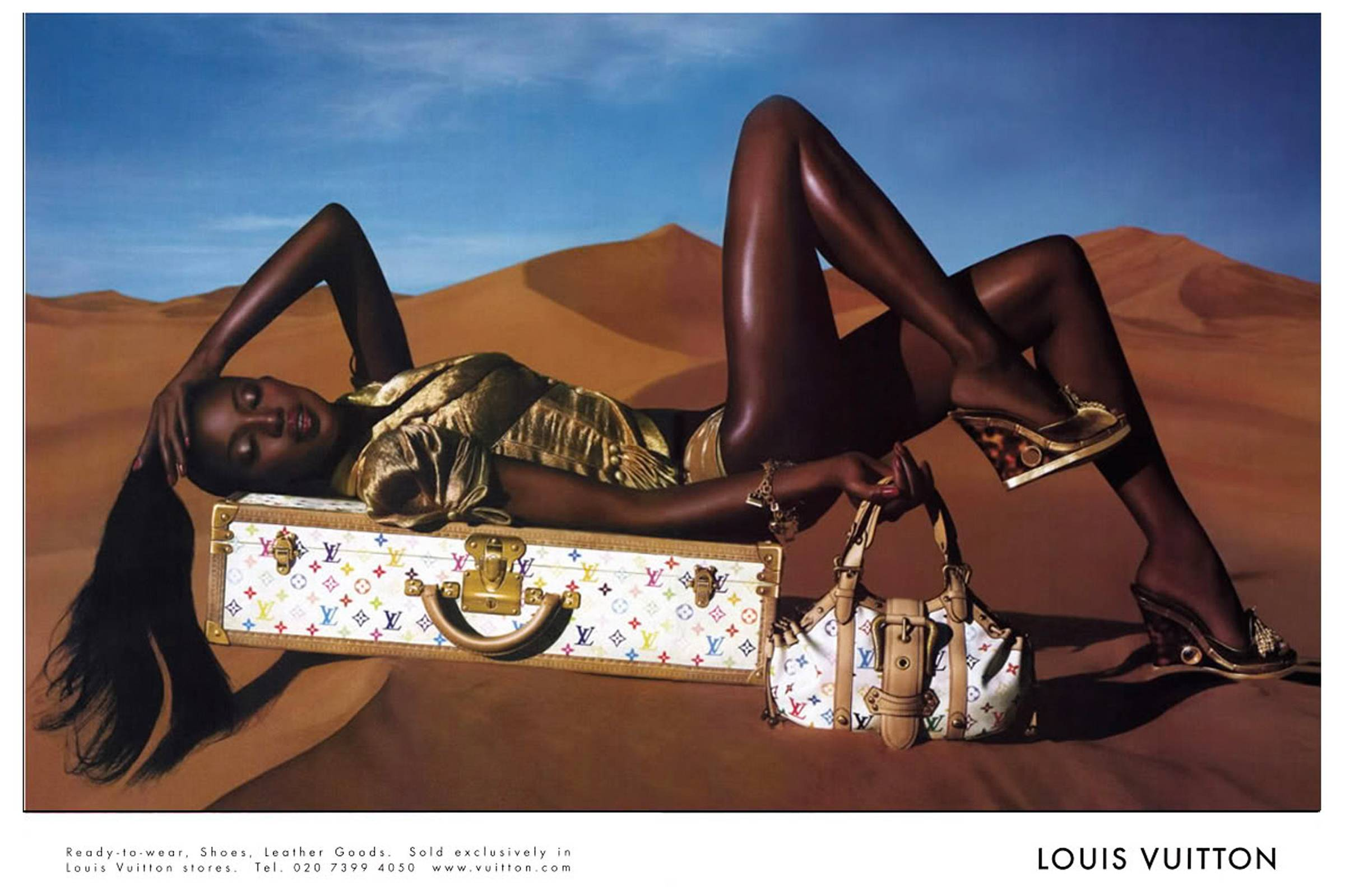 Louis Vuitton Spring/Summer 2004 Campaign by Marc Jacobs featuring Takashi Murakami collaboration
