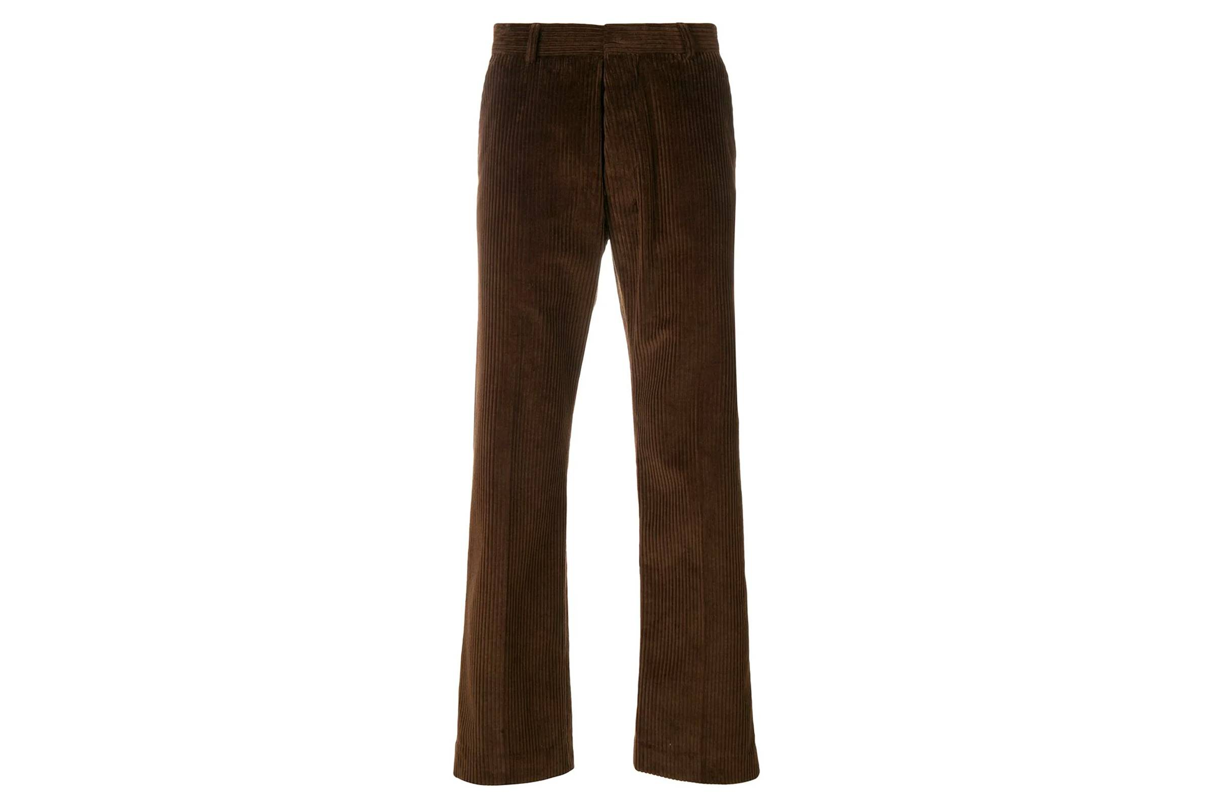 AMI Straight Fit Corduroy Pant
