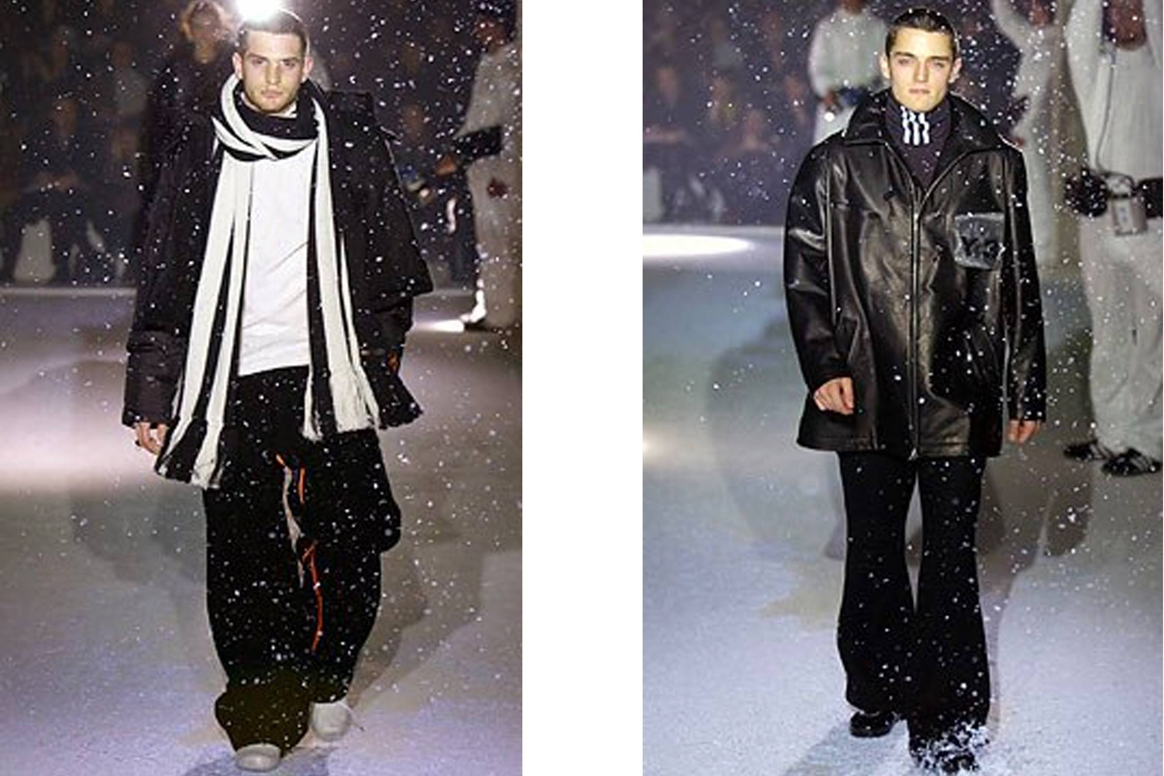 Looks from Y-3 Fall/Winter 2003