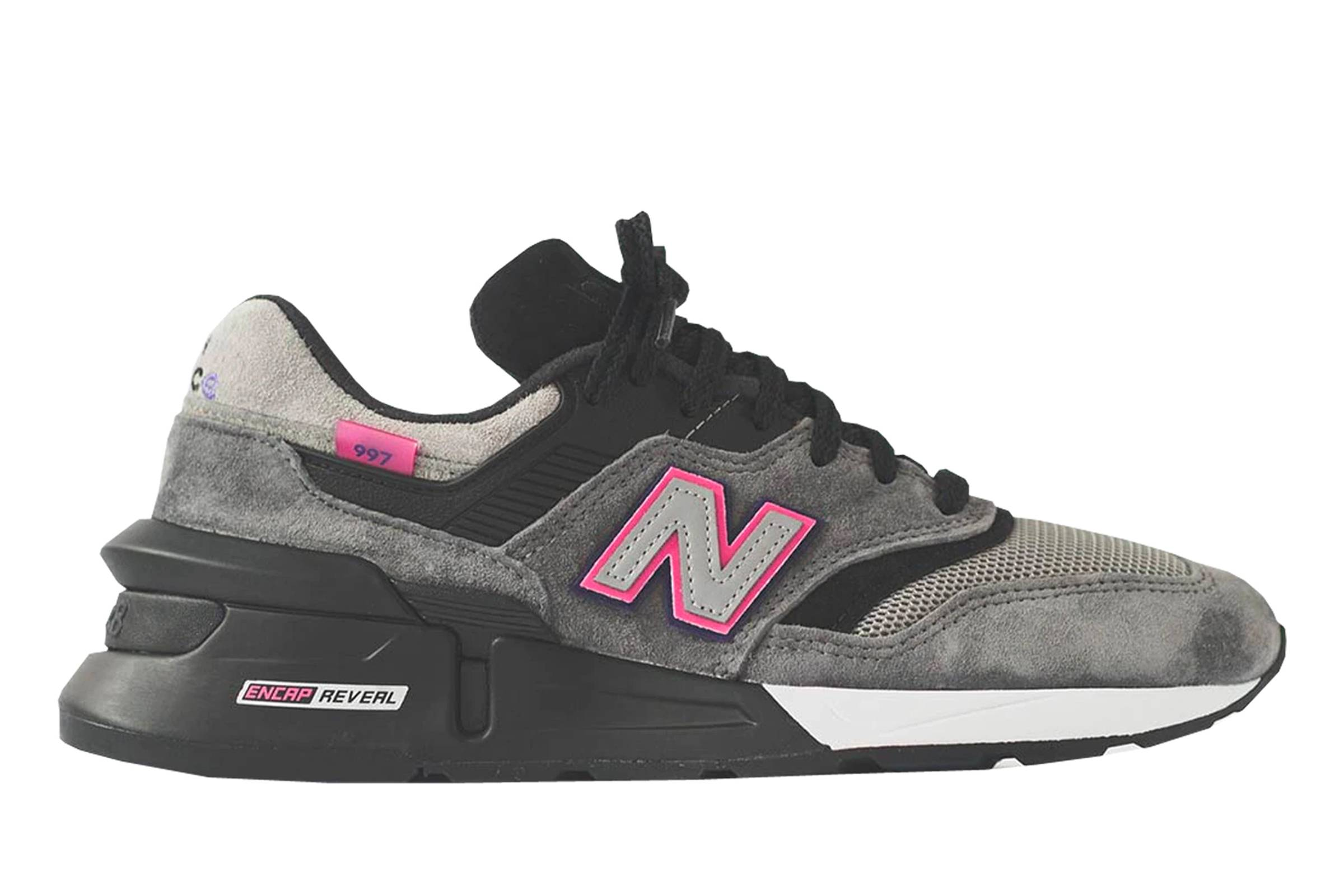 "United Arrows x Kith x New Balance 997S ""Fusion Grey/Black"""