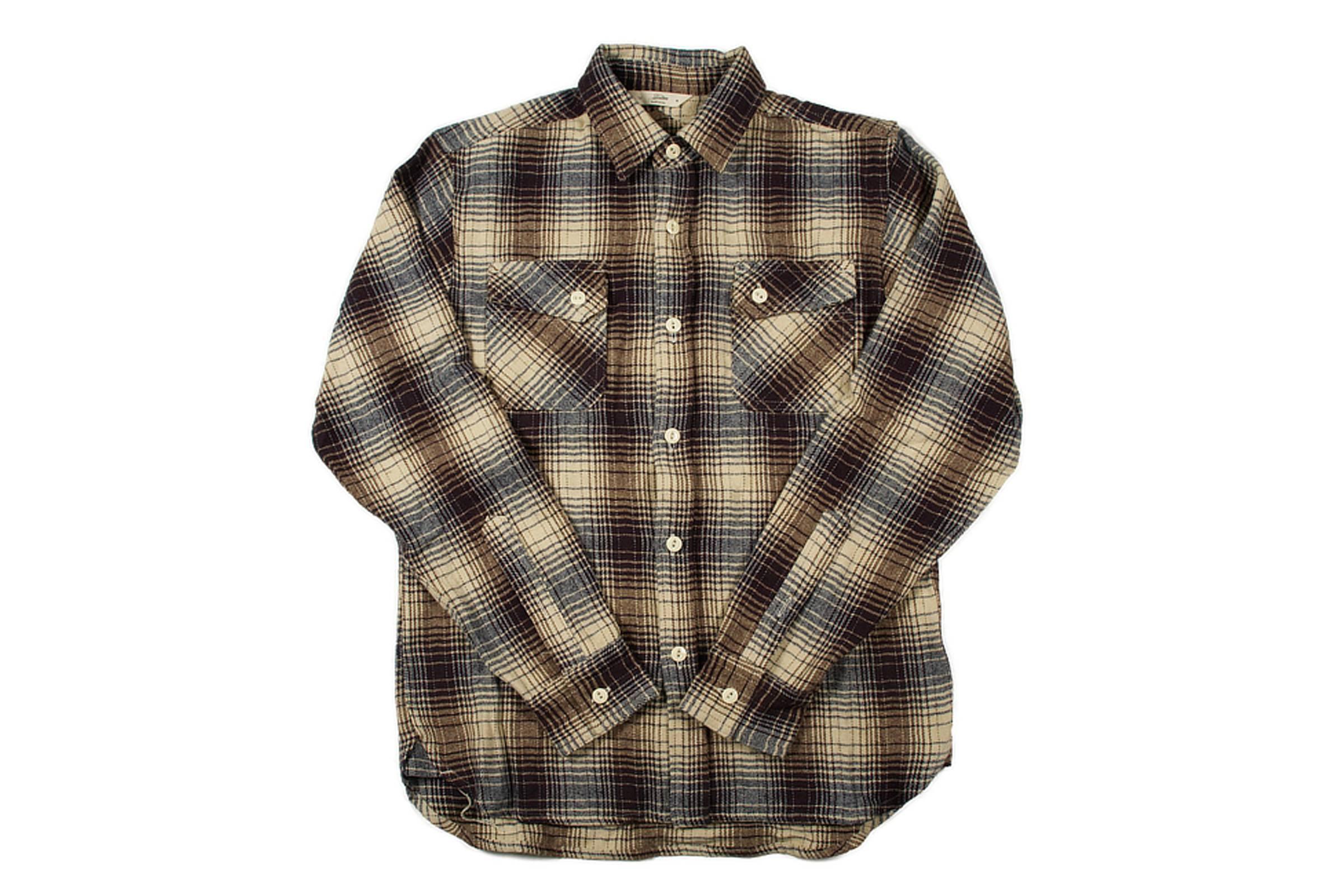 13. 3Sixteen Crosscut Flannel Shirt
