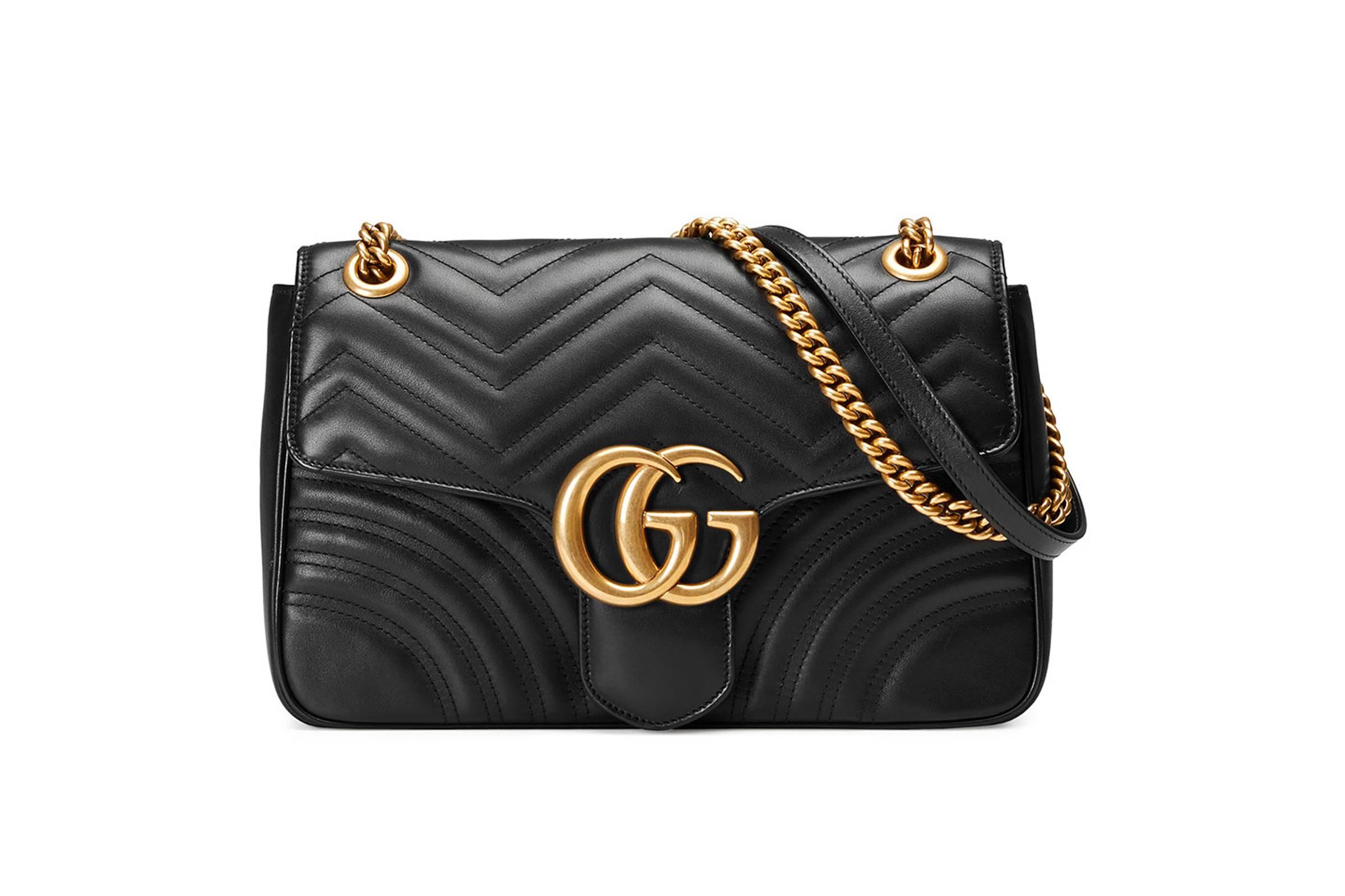 Gucci Marmont Matelasse Handbag