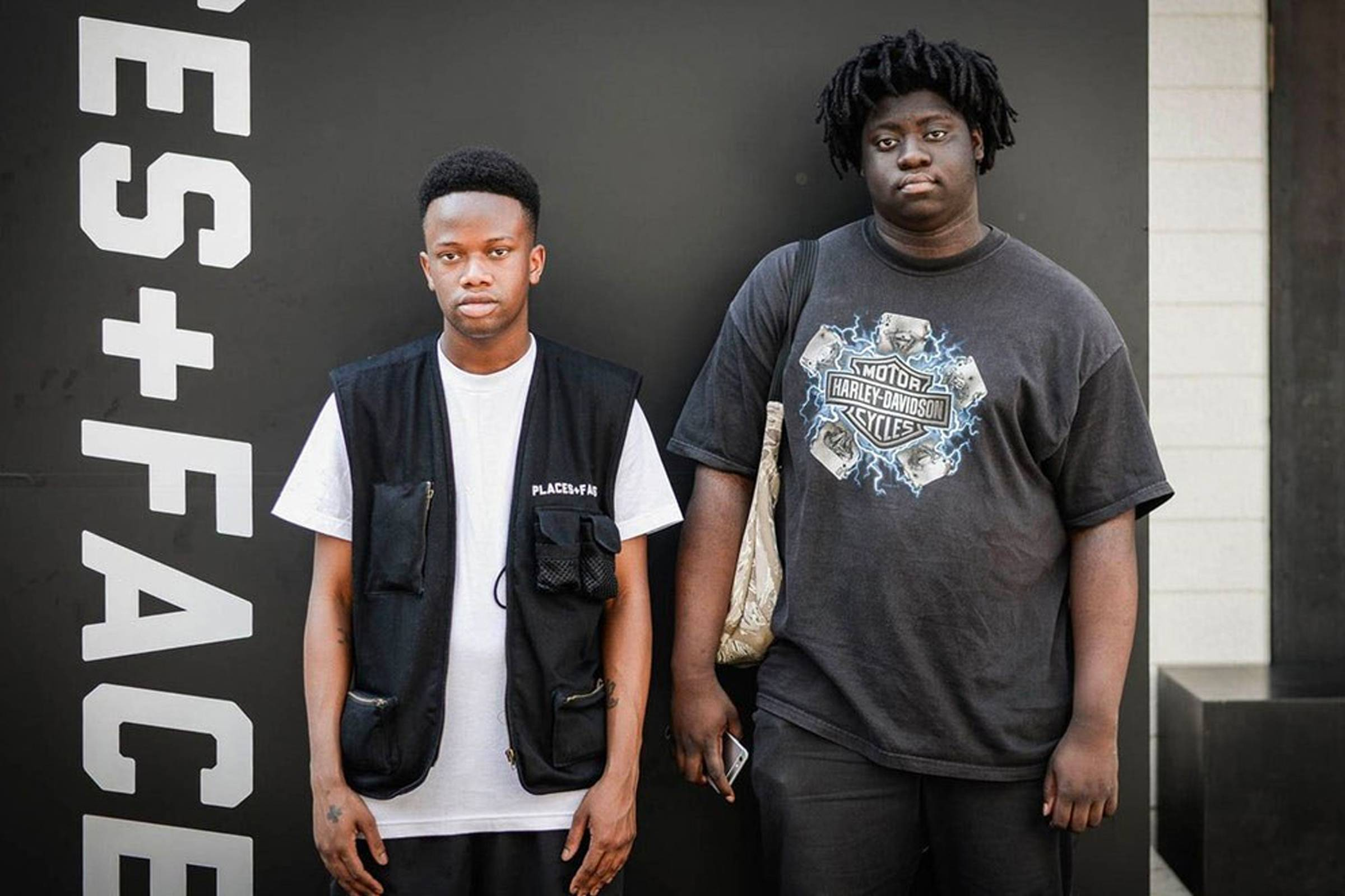 Ceisay (right) and Soulz (left), Founders of Places + Faces