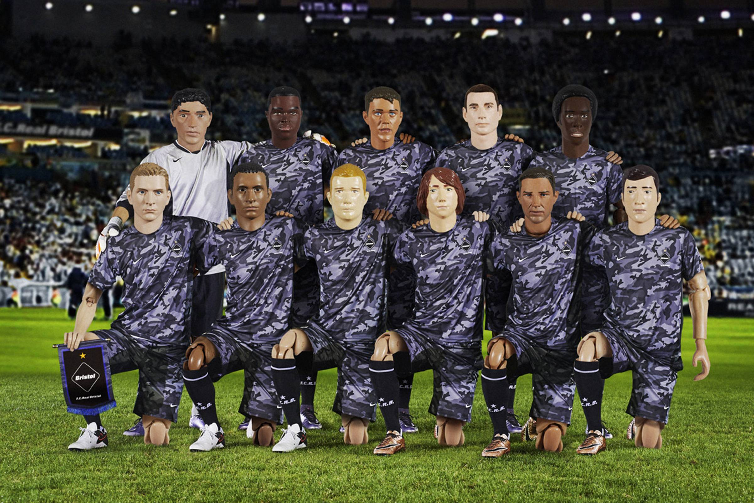 SOPHNET. x Nike (F.C. Real Bristol)