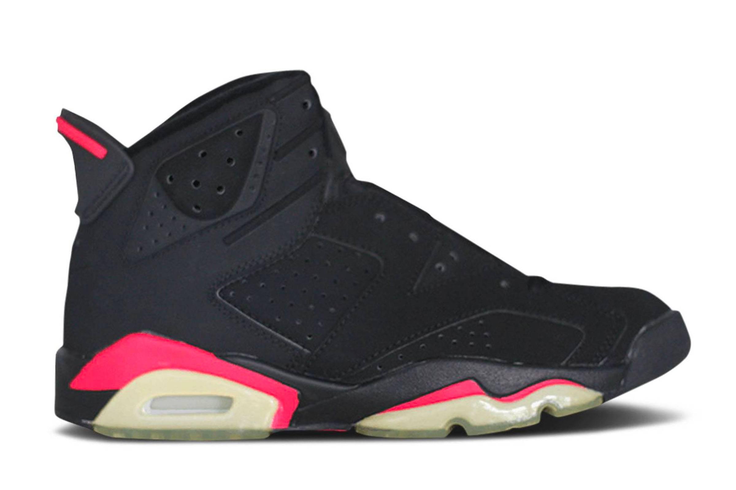 """Jordan VI """"Black/Infrared"""" (1991)"""