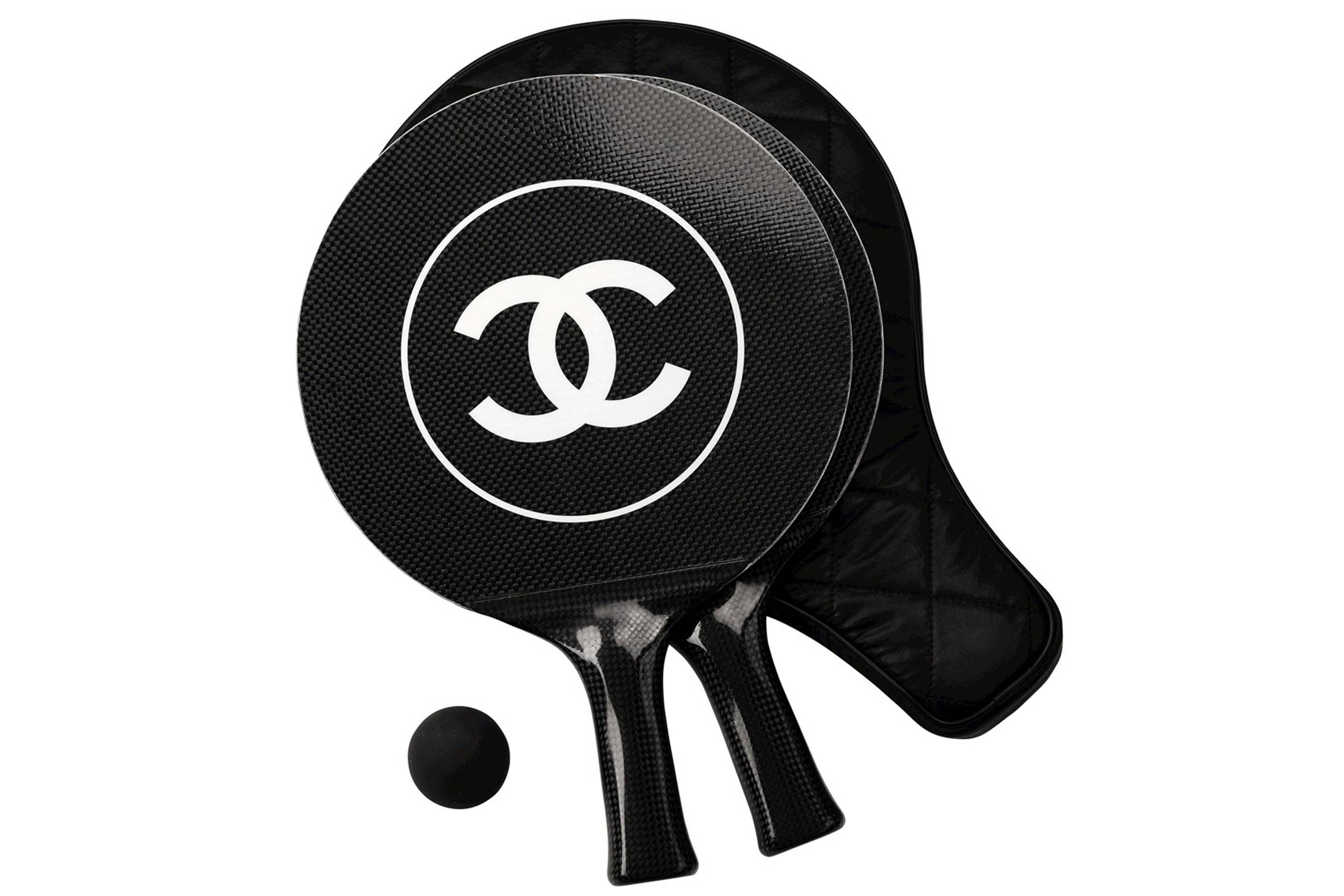 Chanel Table Tennis Set