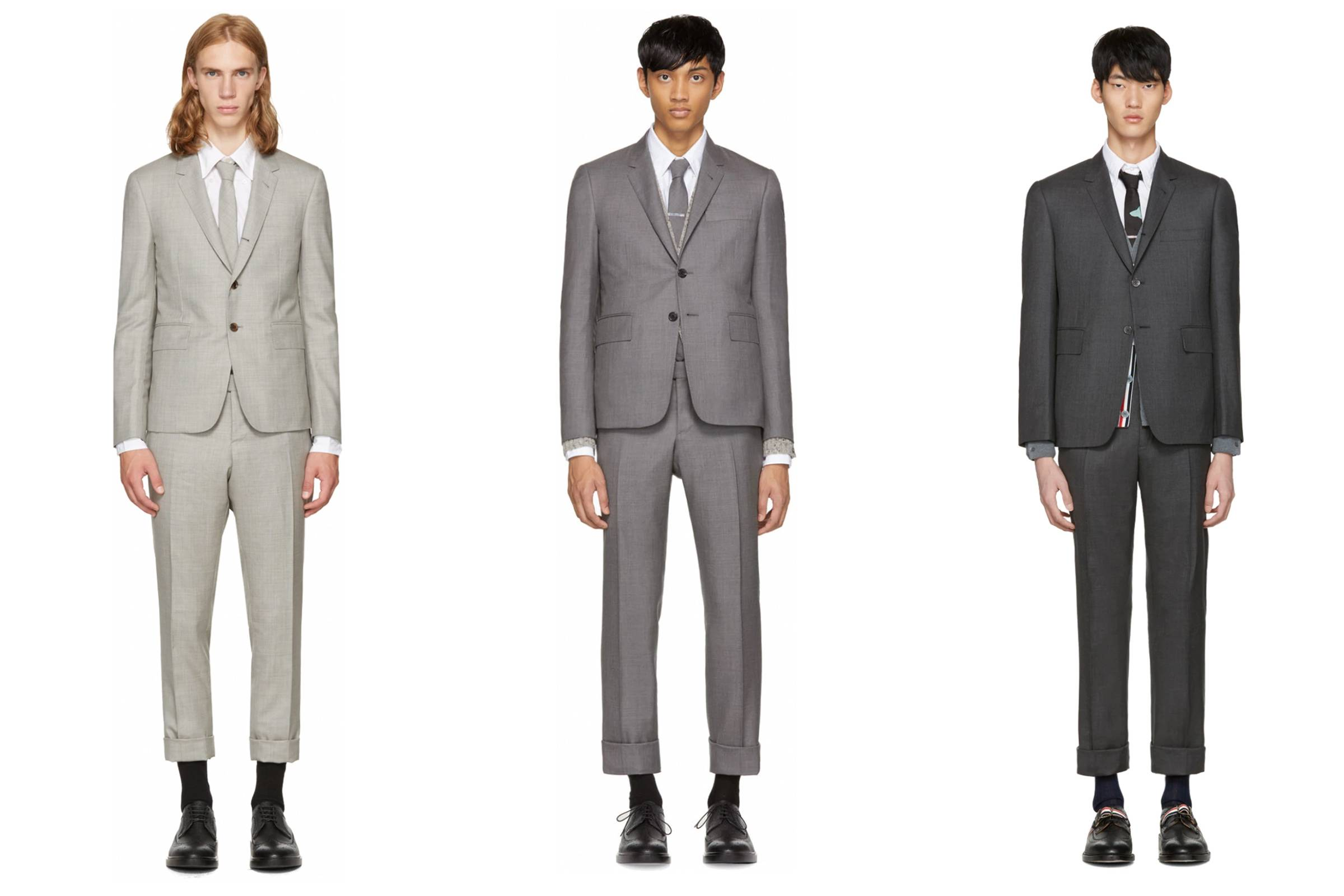 The classic Thom Browne silhouette