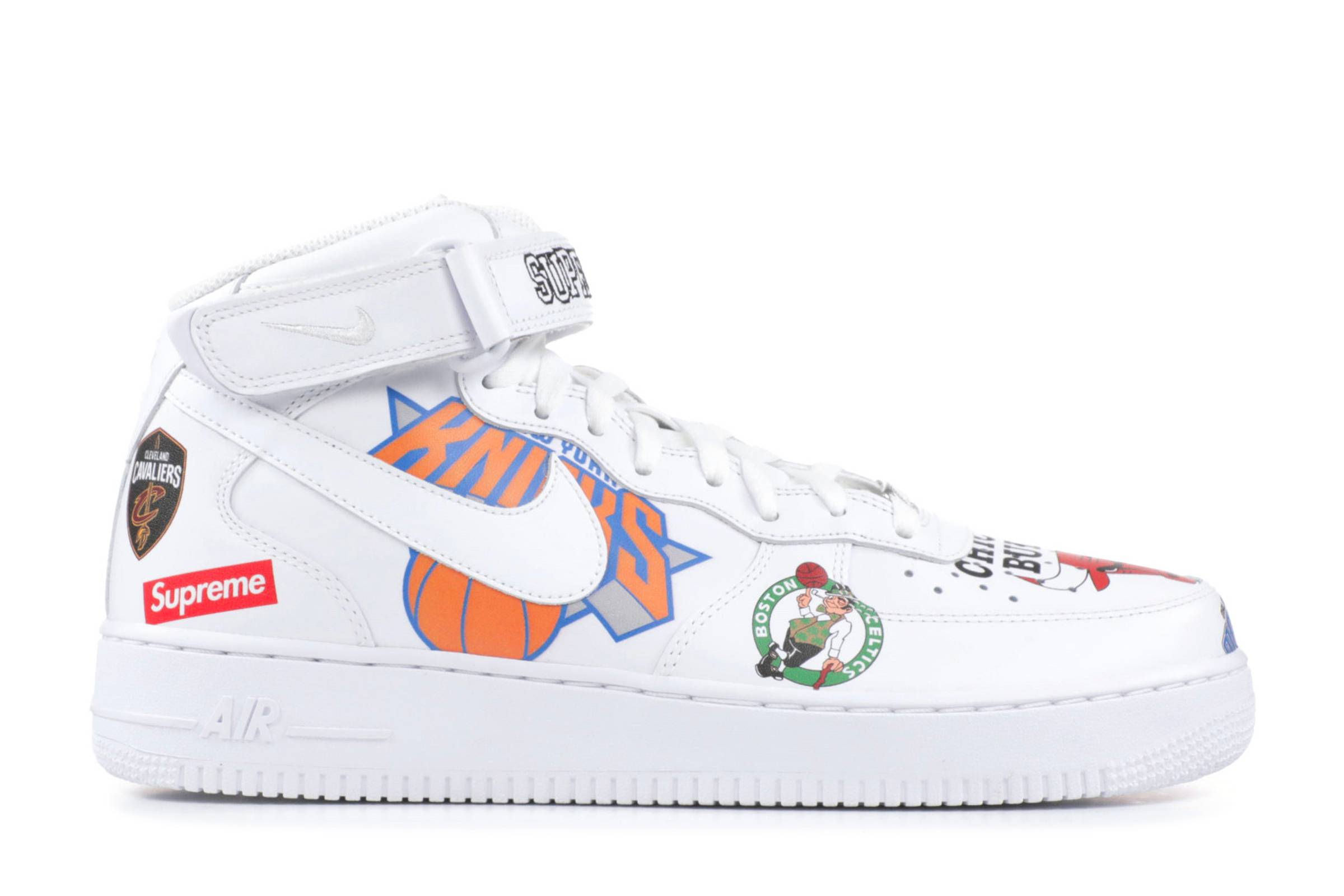 Supreme x NBA x Nike Air Force 1 Mid (2018)