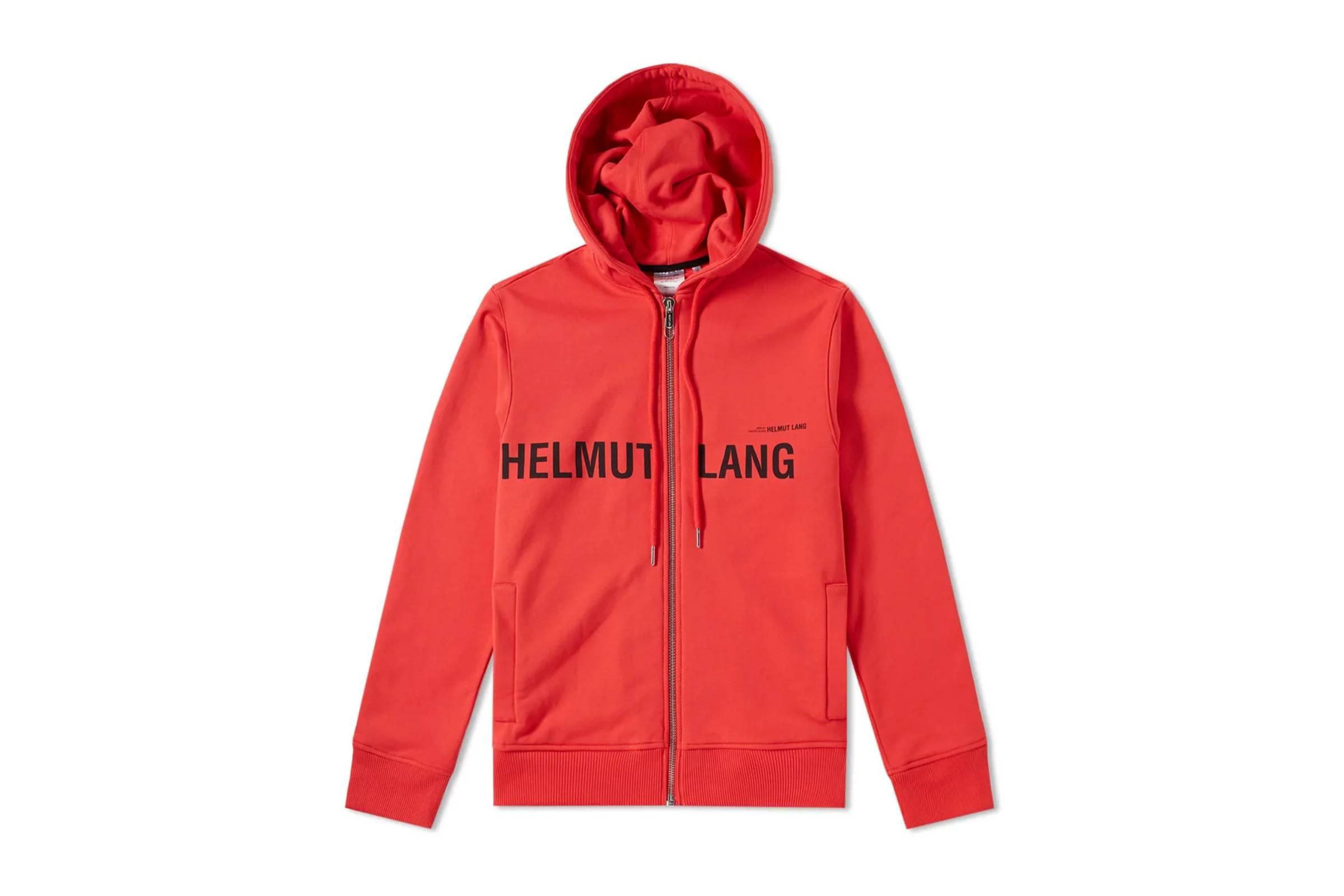 Helmut Lang by Shayne Oliver Zip-Up Hoodie