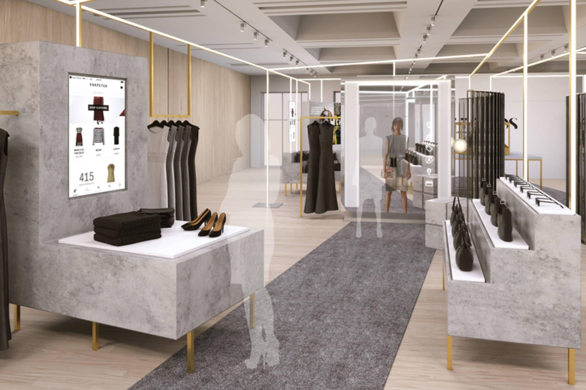 """Farfetch's """"Store of the Future"""""""