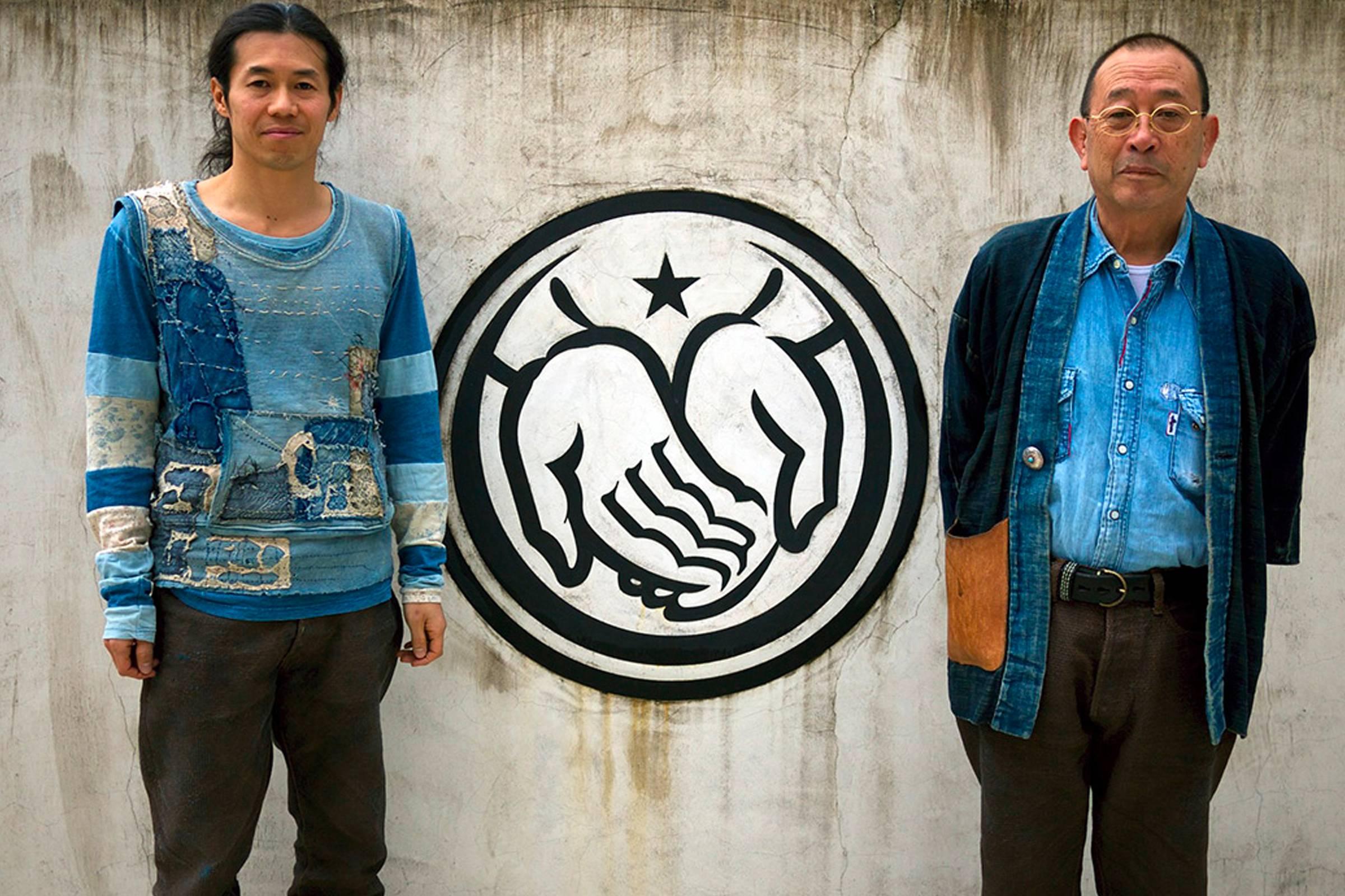Kiro (left) and Toshikiyo Hirata