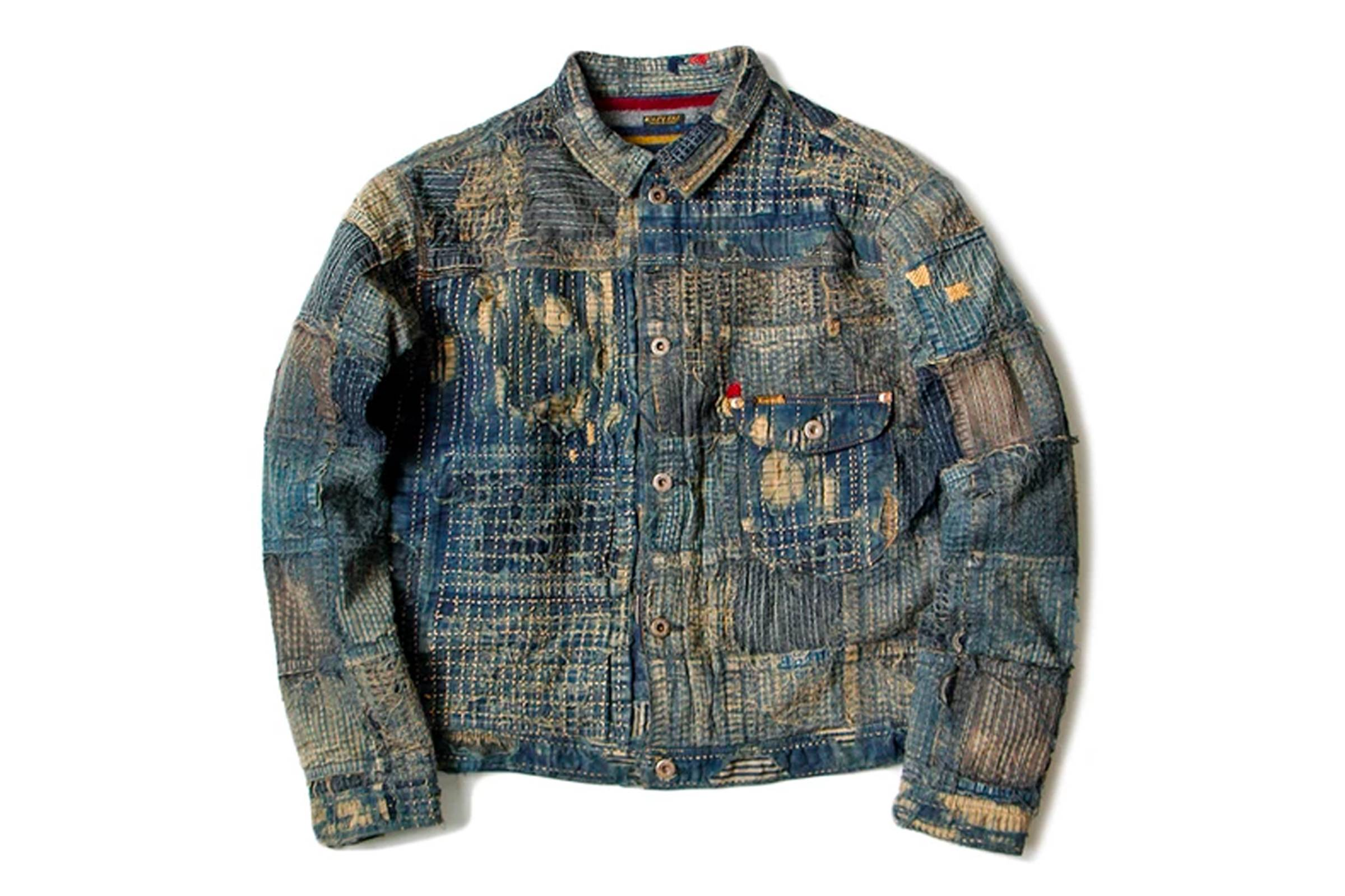 Kapital Kountry Boro Denim Jacket
