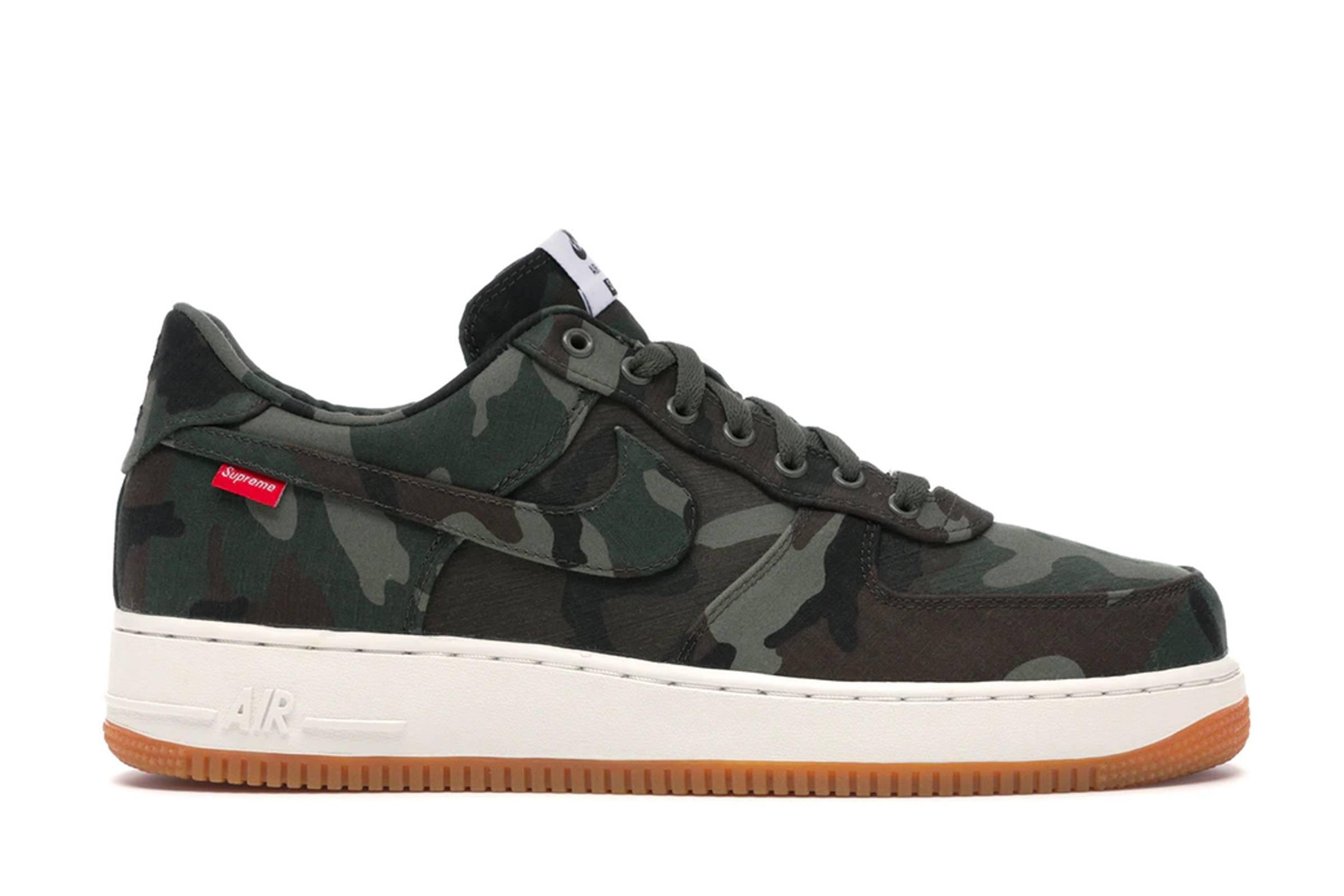 "Supreme x Nike Air Force 1 ""Camo"""