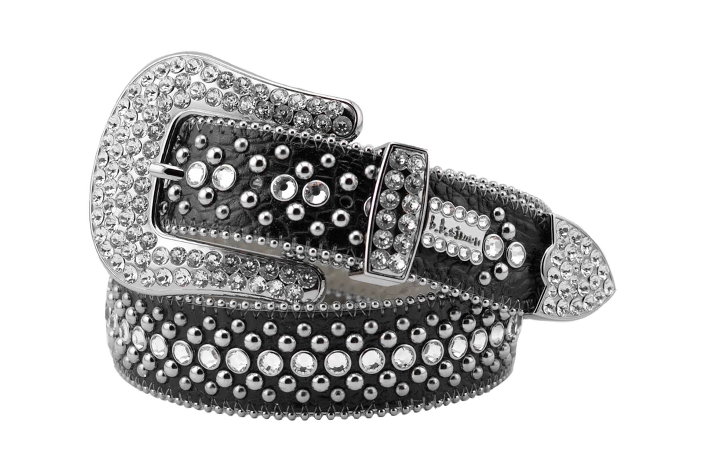 B.B. Simon Fully Loaded Swarovski Belt