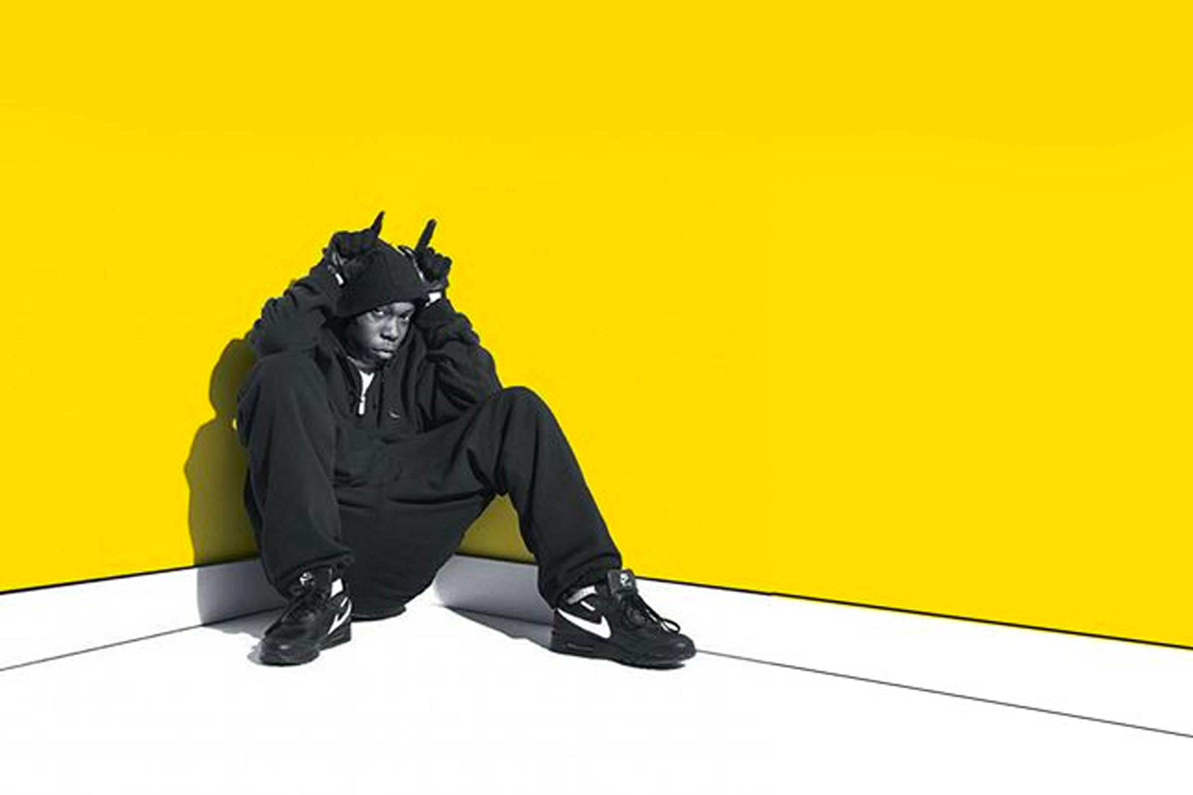 """The album cover image from Dizzie Rascal's """"Boy in Da Corner"""""""