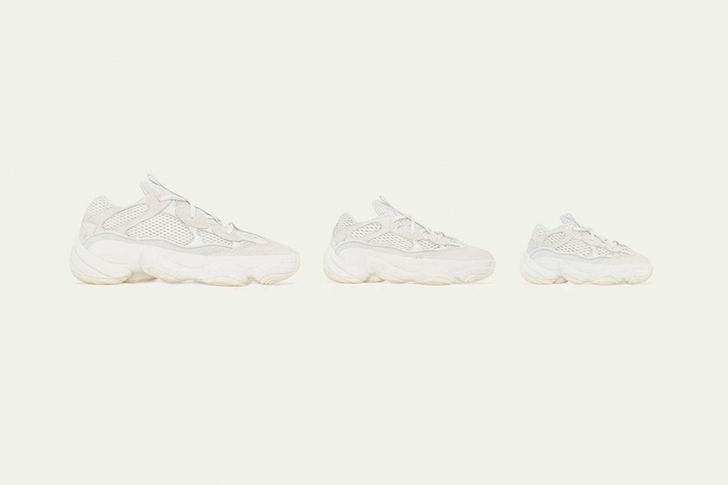 best loved 6114d 103b6 Yeezy Boost 500 Bone White Drops August 24 | Grailed