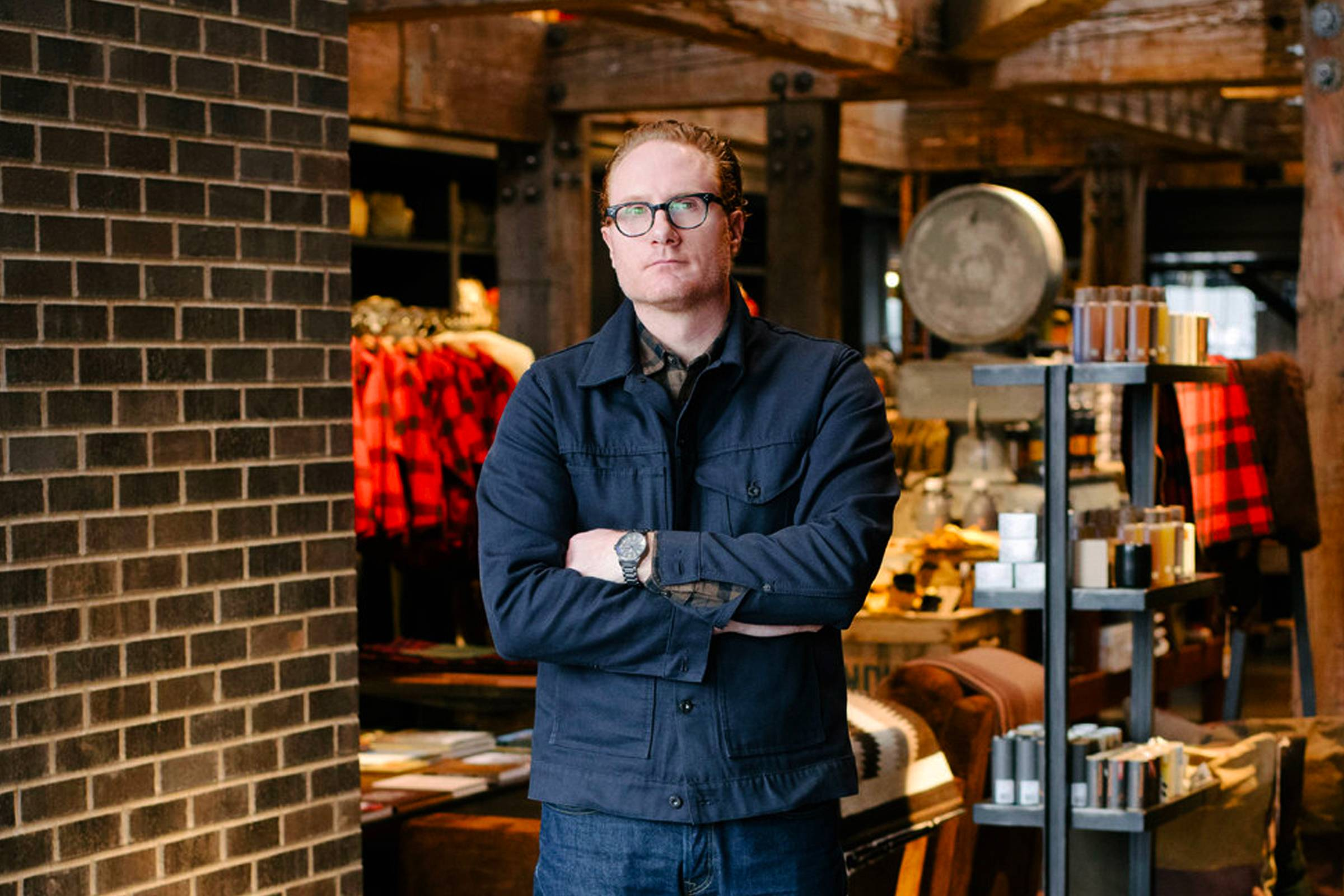Former Filson President Gray Madden (departed the company in March 2017)