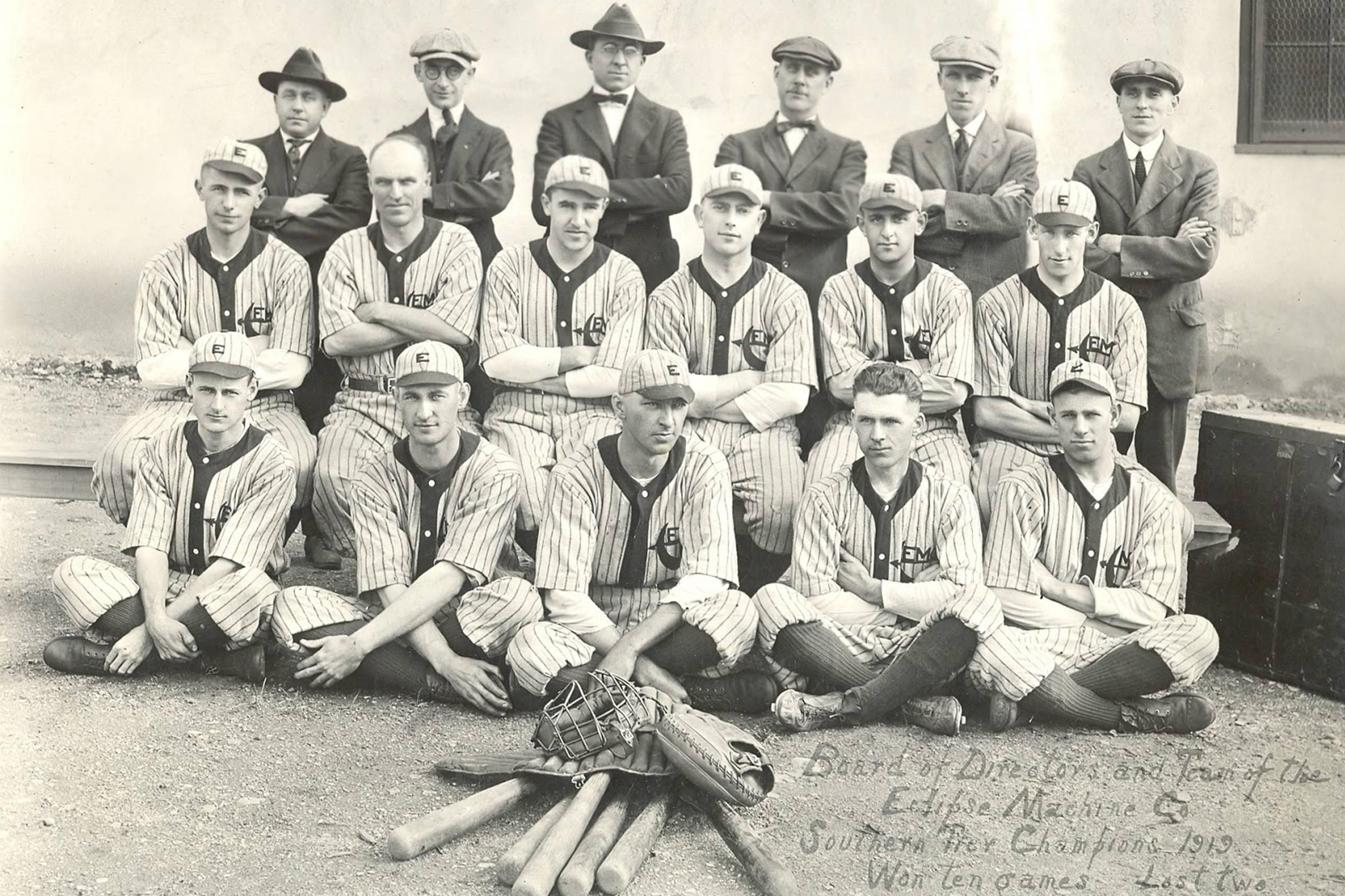 The New York Knickerbocker Base Ball Club, late 1800s