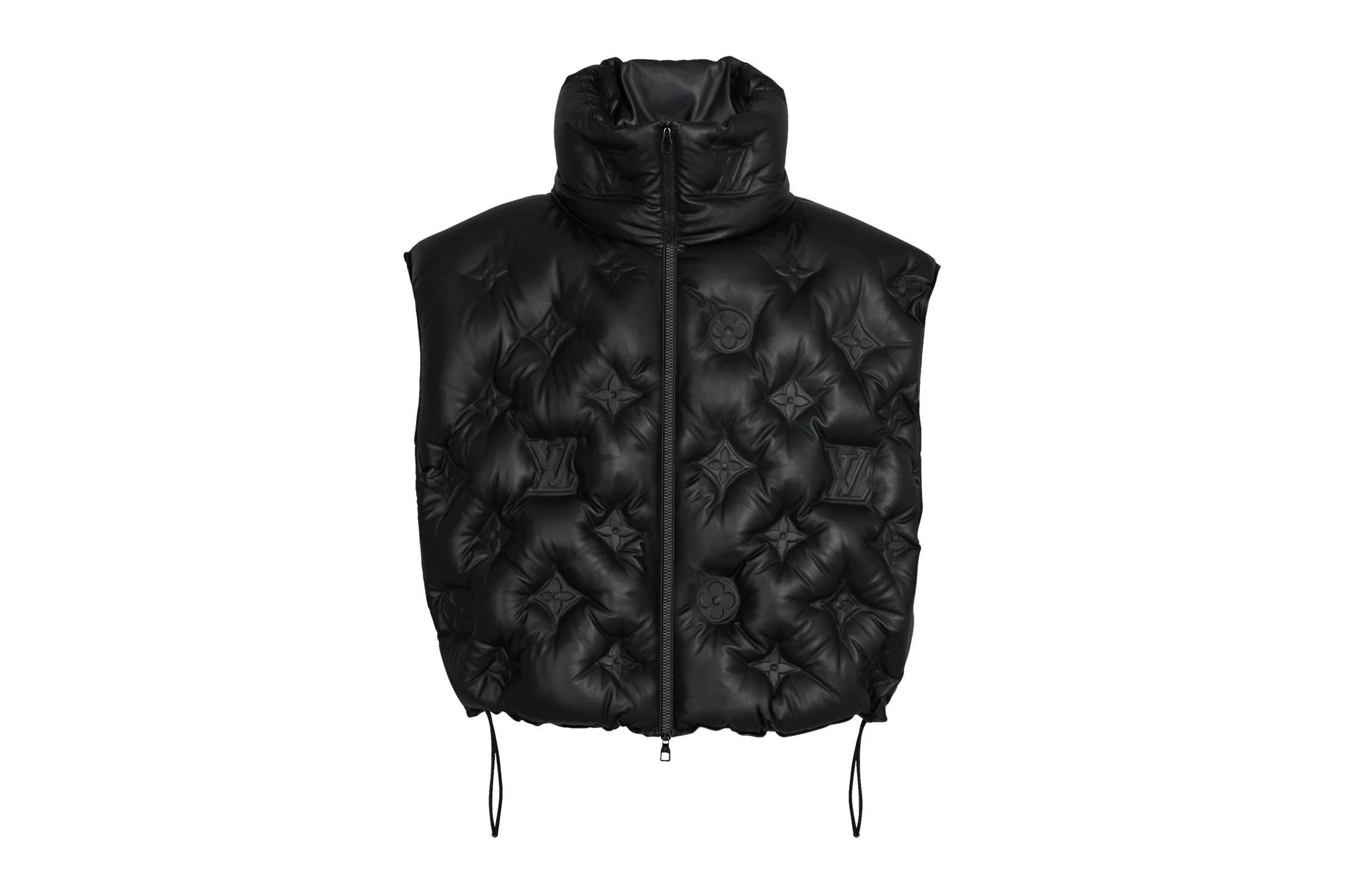 Louis Vuitton Fall/Winter 2019 Monogram Boyhood Puffer Leather Vest