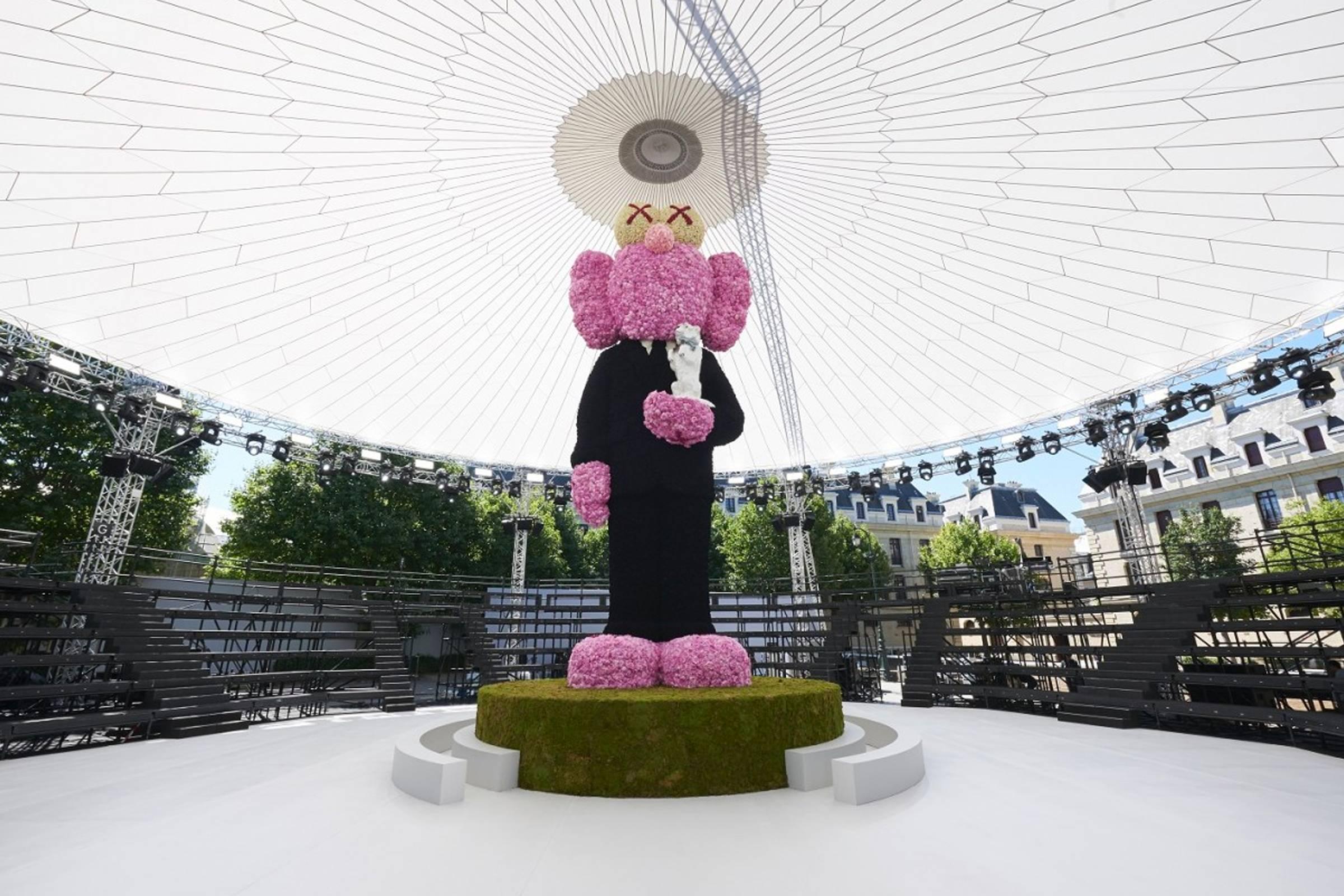 KAWS x Dior Men's Companion statue as part of Dior Men's Spring/Summer 2019 collection