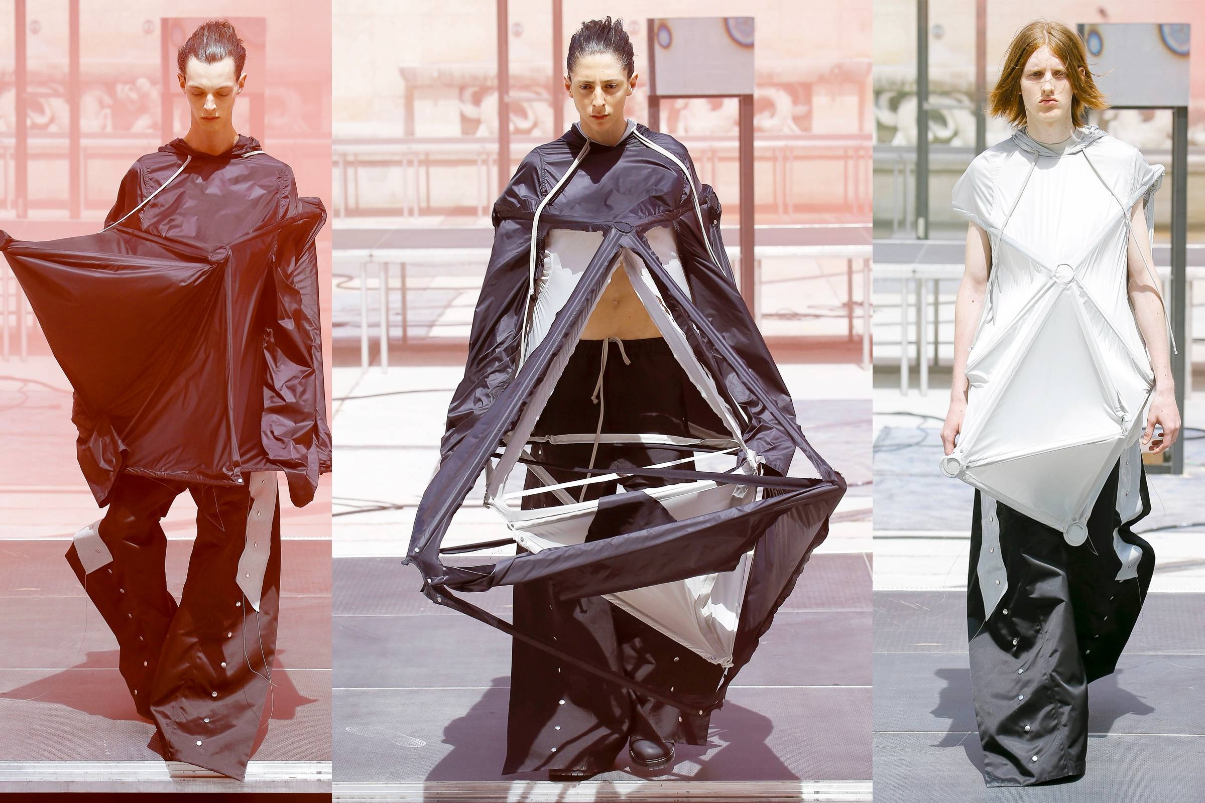 Rick Owens' Towers of Tatlin and Babel