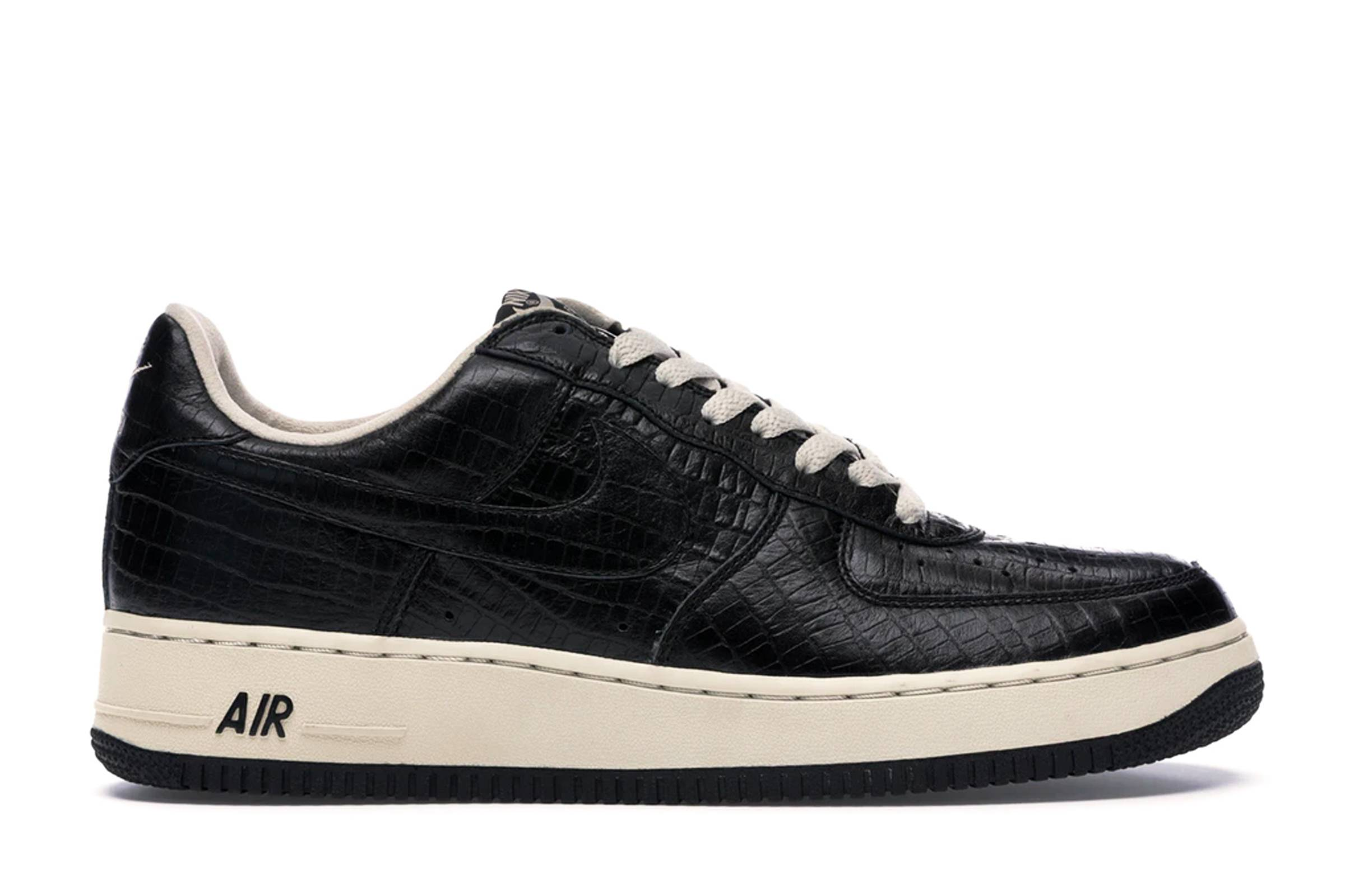 """Nike HTM Air Force 1 Premium """"Black Croc"""""""