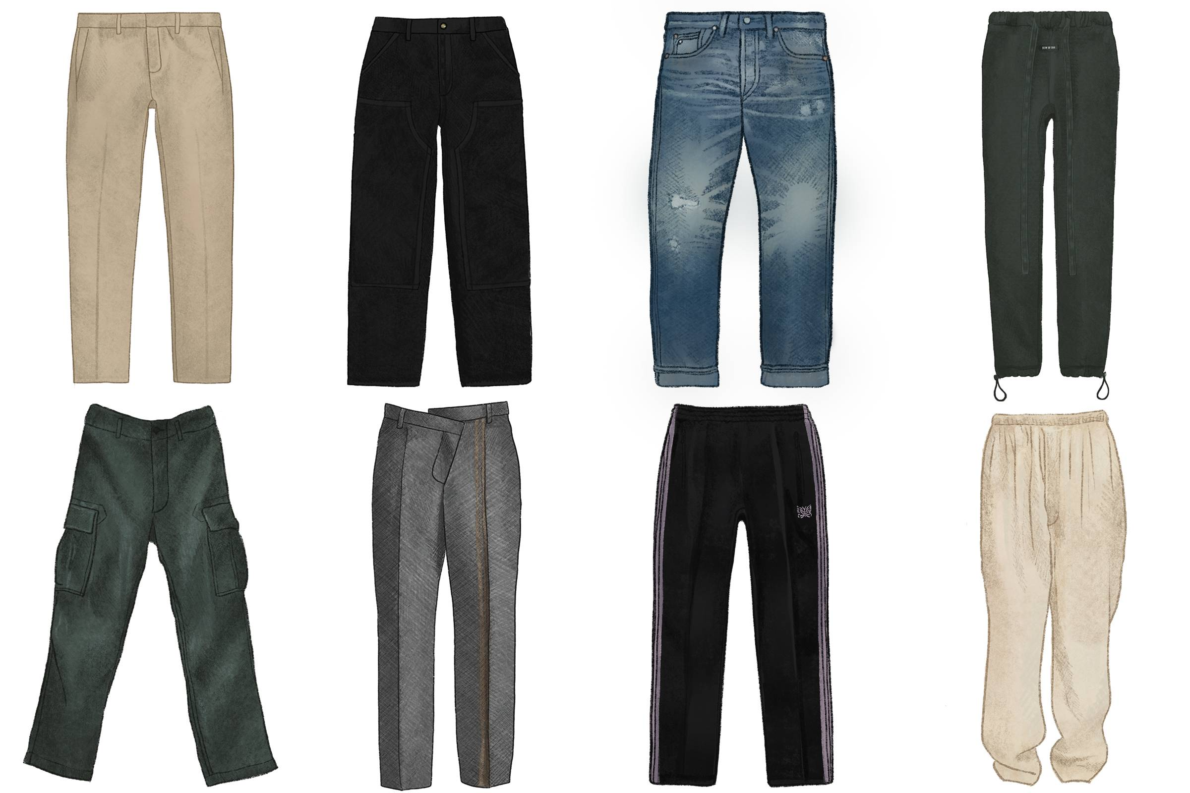 Men's Pant Styles Every Guy Should Know