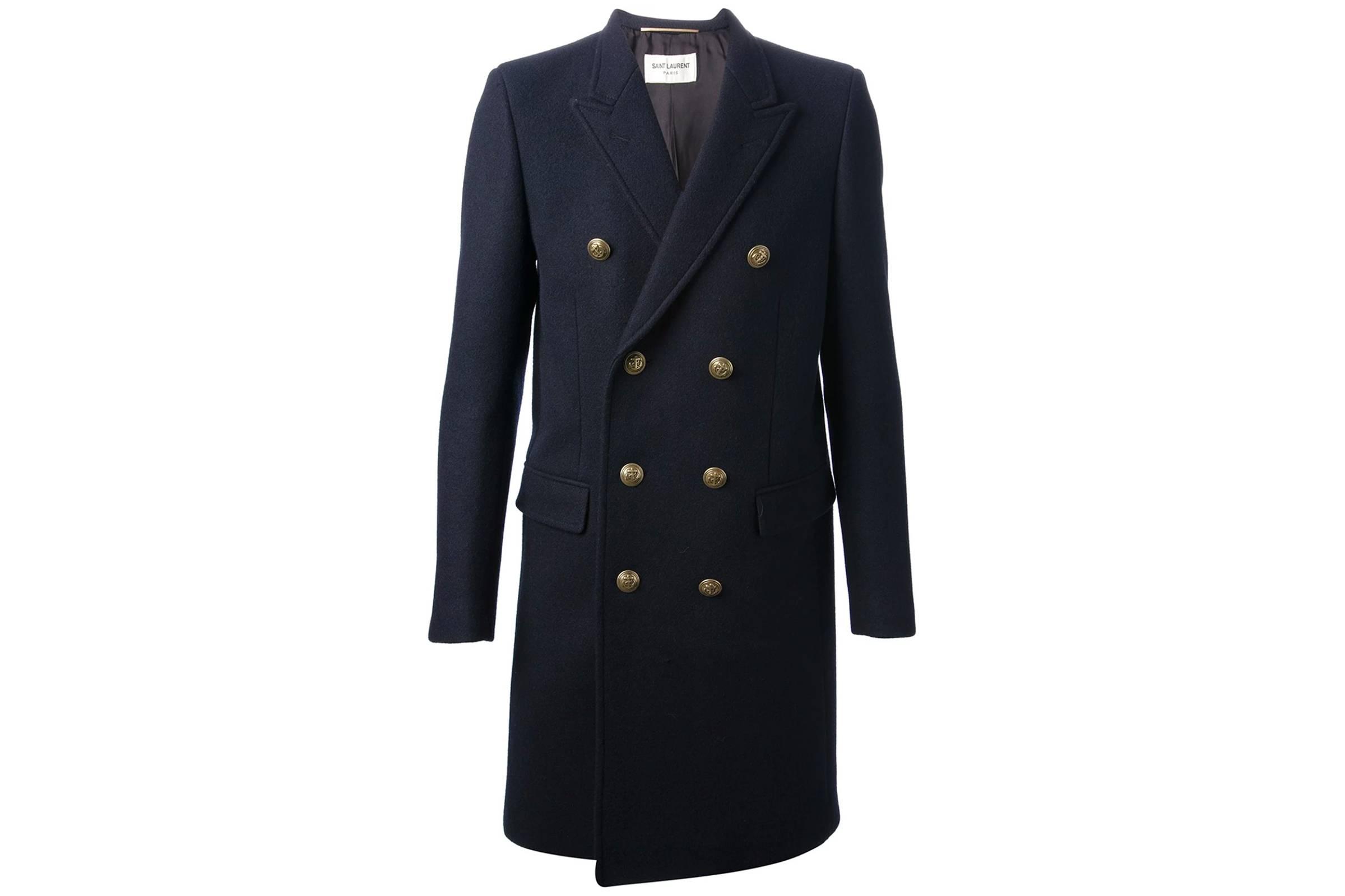 Saint Laurent Paris Naval Allure Coat
