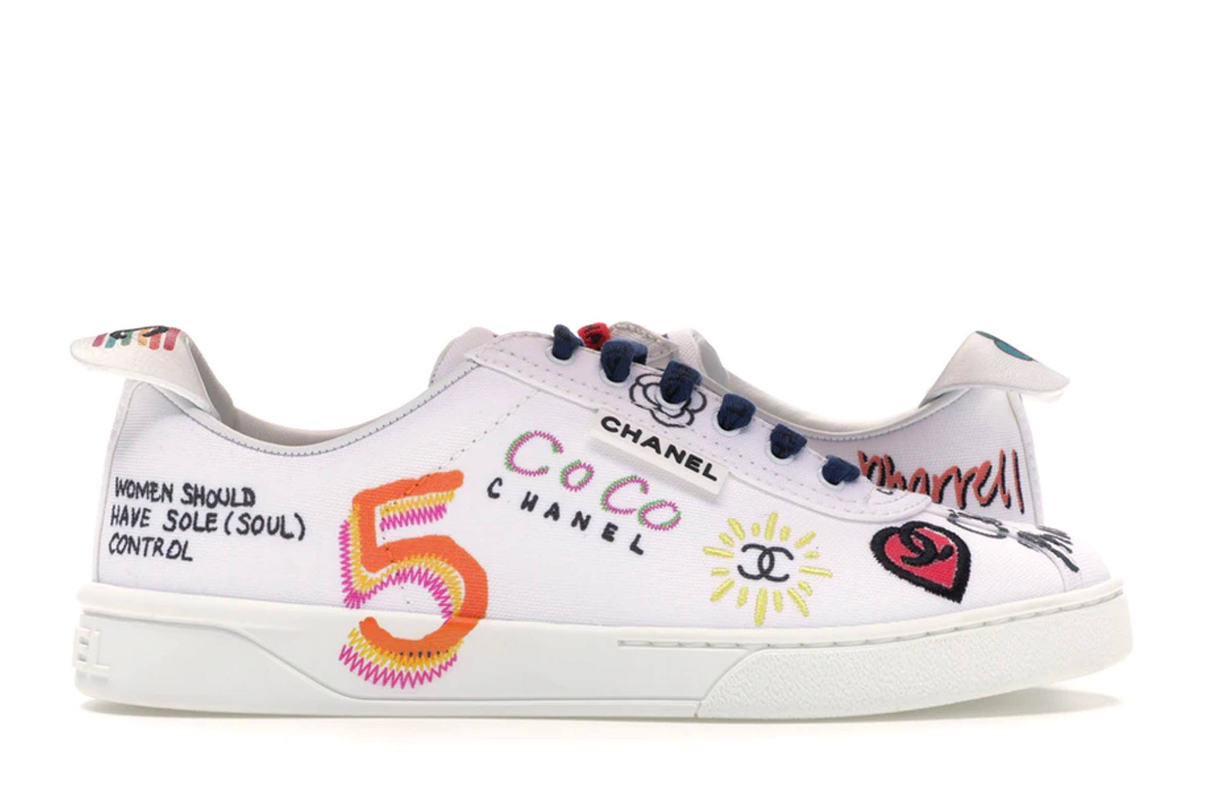 Chanel Pharrell Graffiti Sneakers