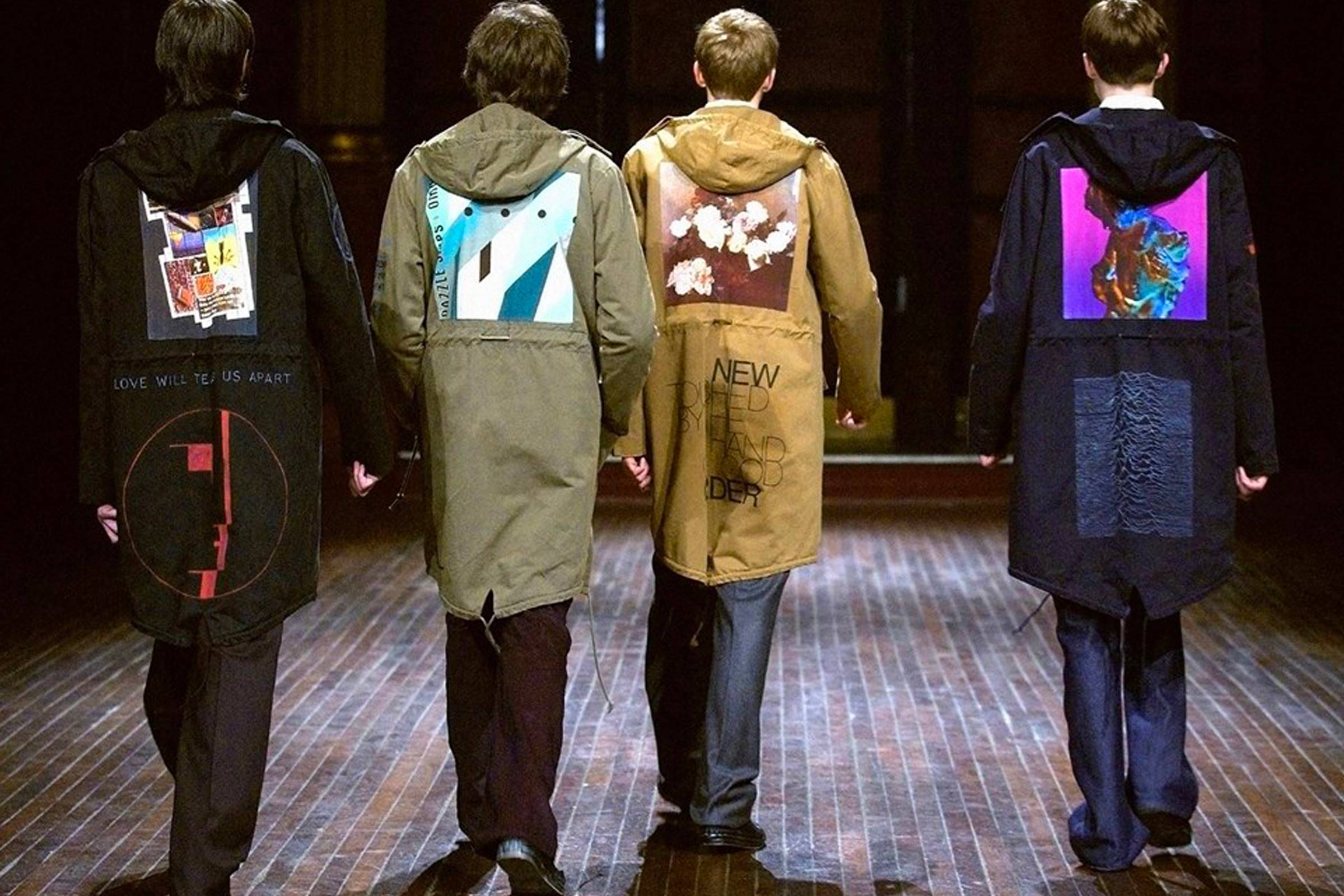 From Raf Simons to Supreme: New Order and Peter Saville's Fashion History