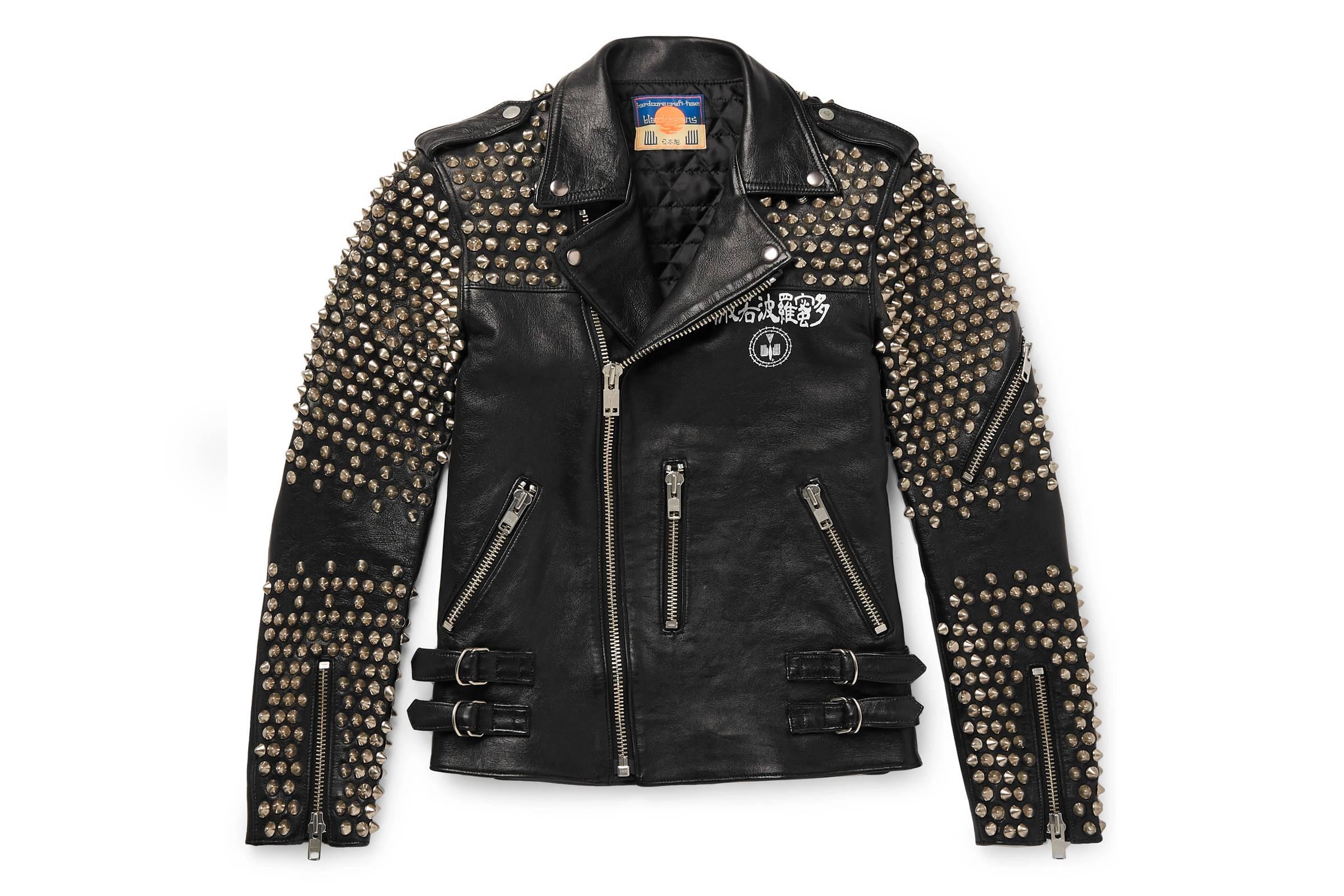 Blackmeans Studded Leather Rider
