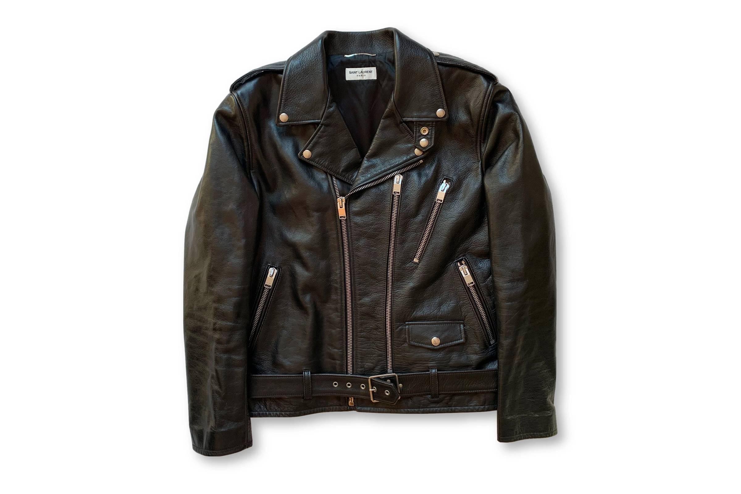 Saint Laurent Paris L17 Leather Jacket