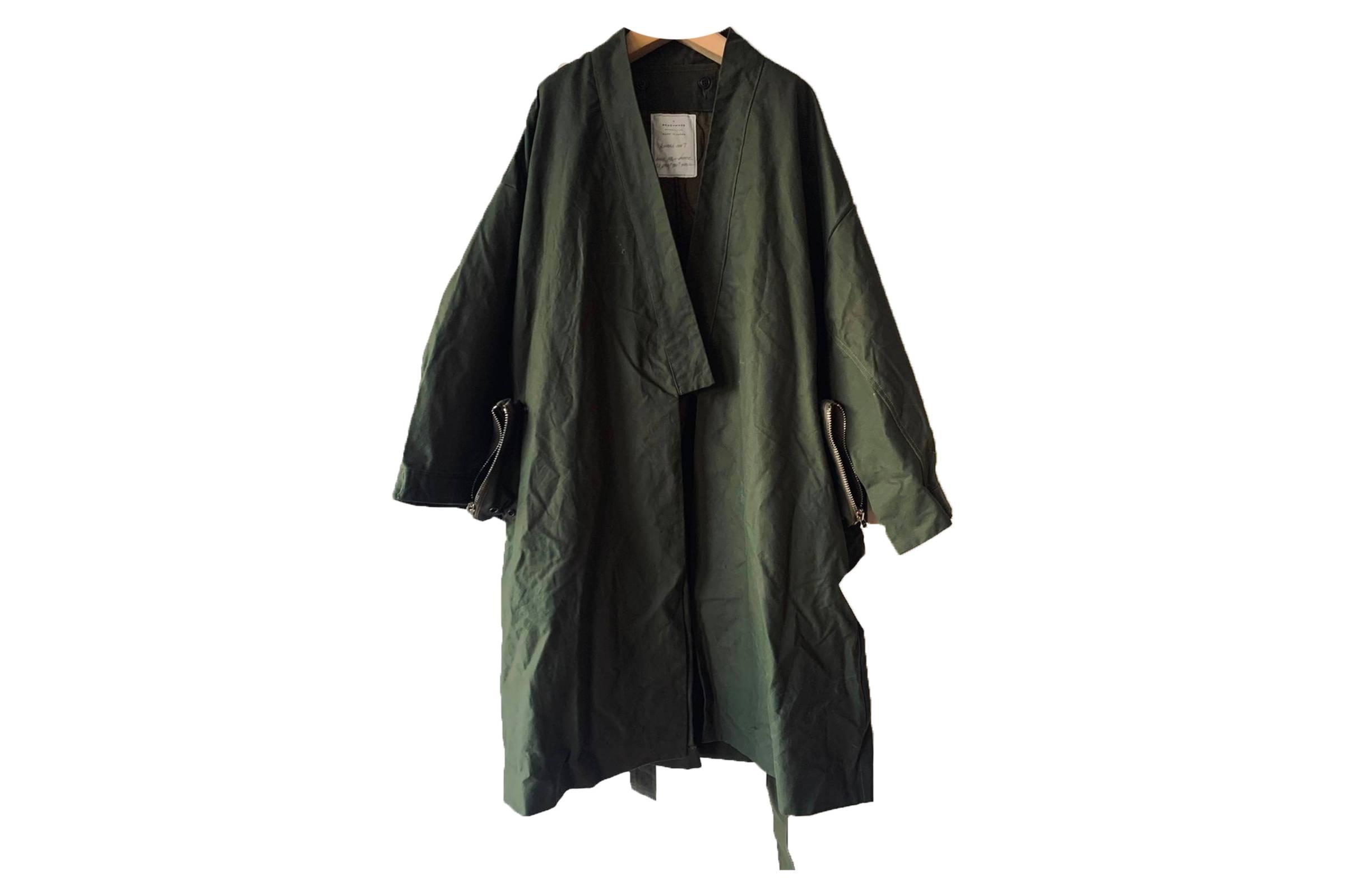 Readymade Tent Kimono Coat