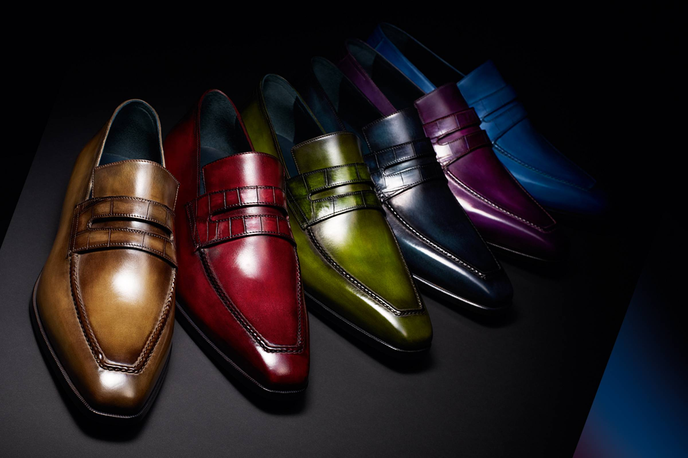 """Berluti's iconic """"Andy"""" loafer"""