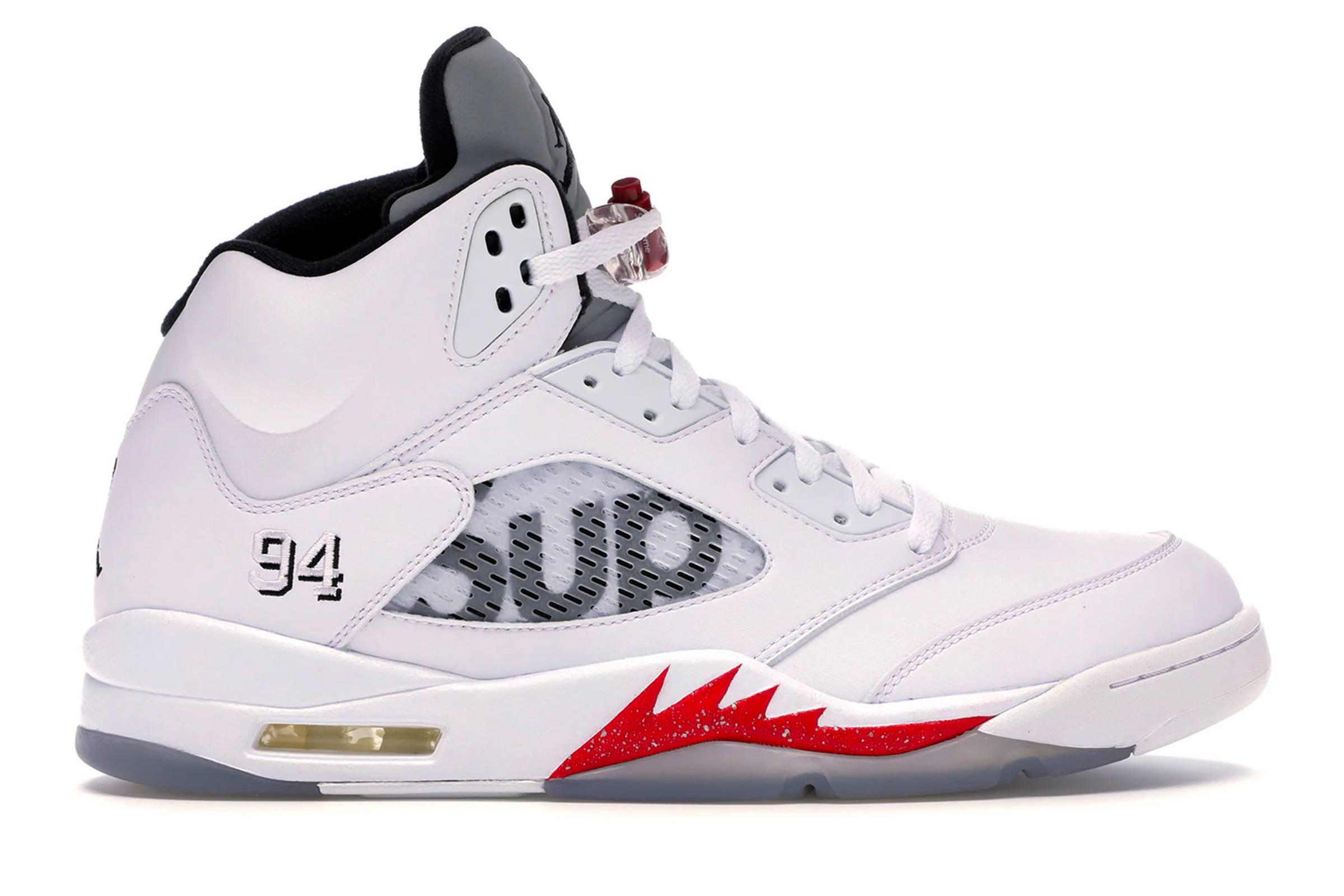 10. Supreme x Jordan V (2015)