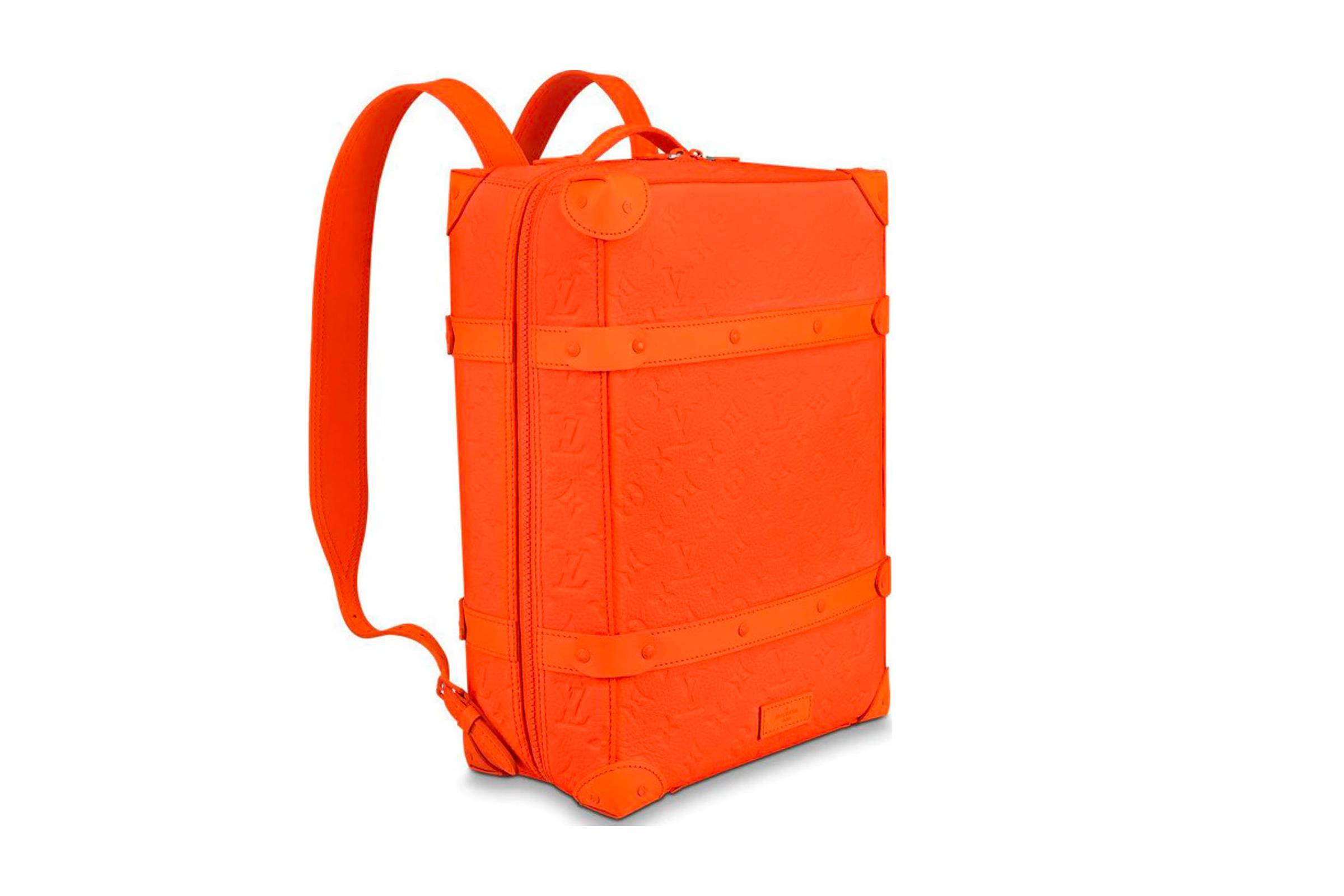 1. Louis Vuitton Soft Trunk Backpack Monogram MCA Orange