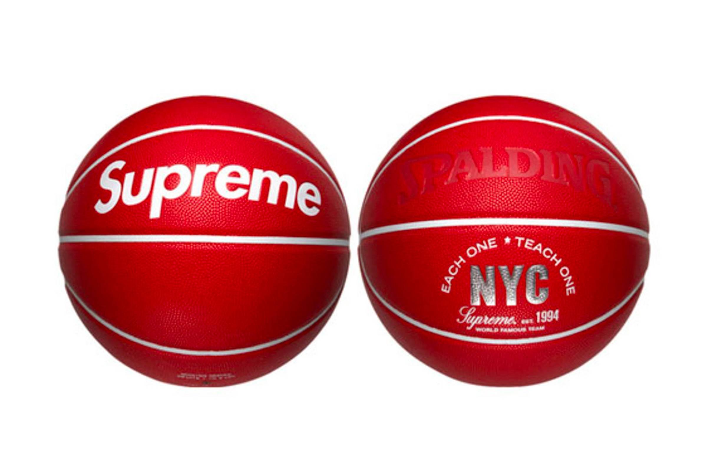 Supreme x Spalding Basketball (2007)