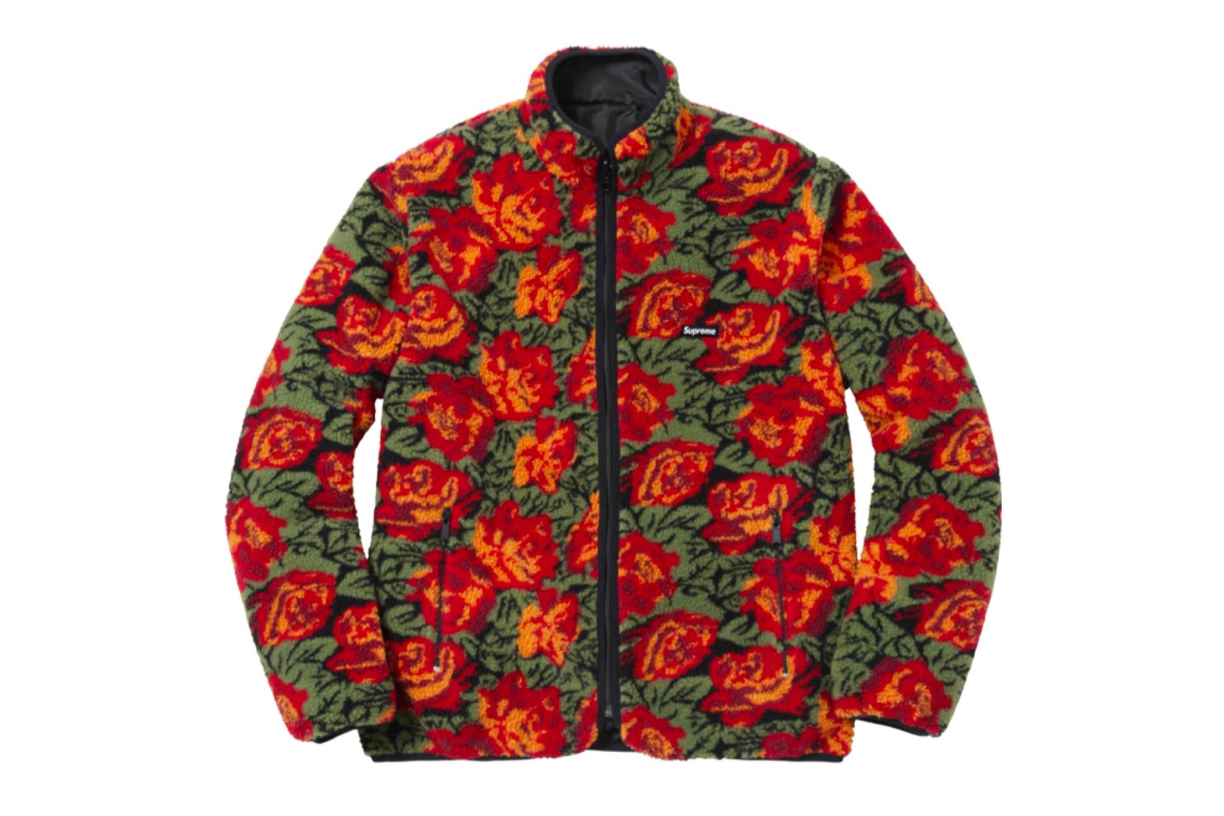 "Supreme ""Roses"" Fleece"