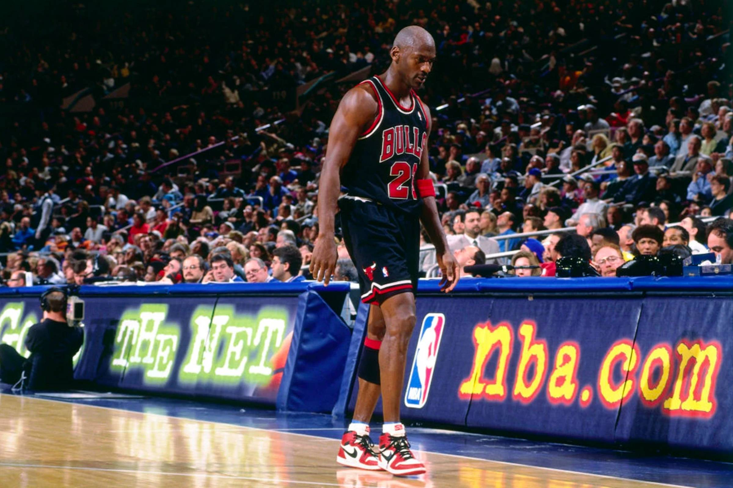 March 8, 1998, Chicago Bulls vs. New York Knicks