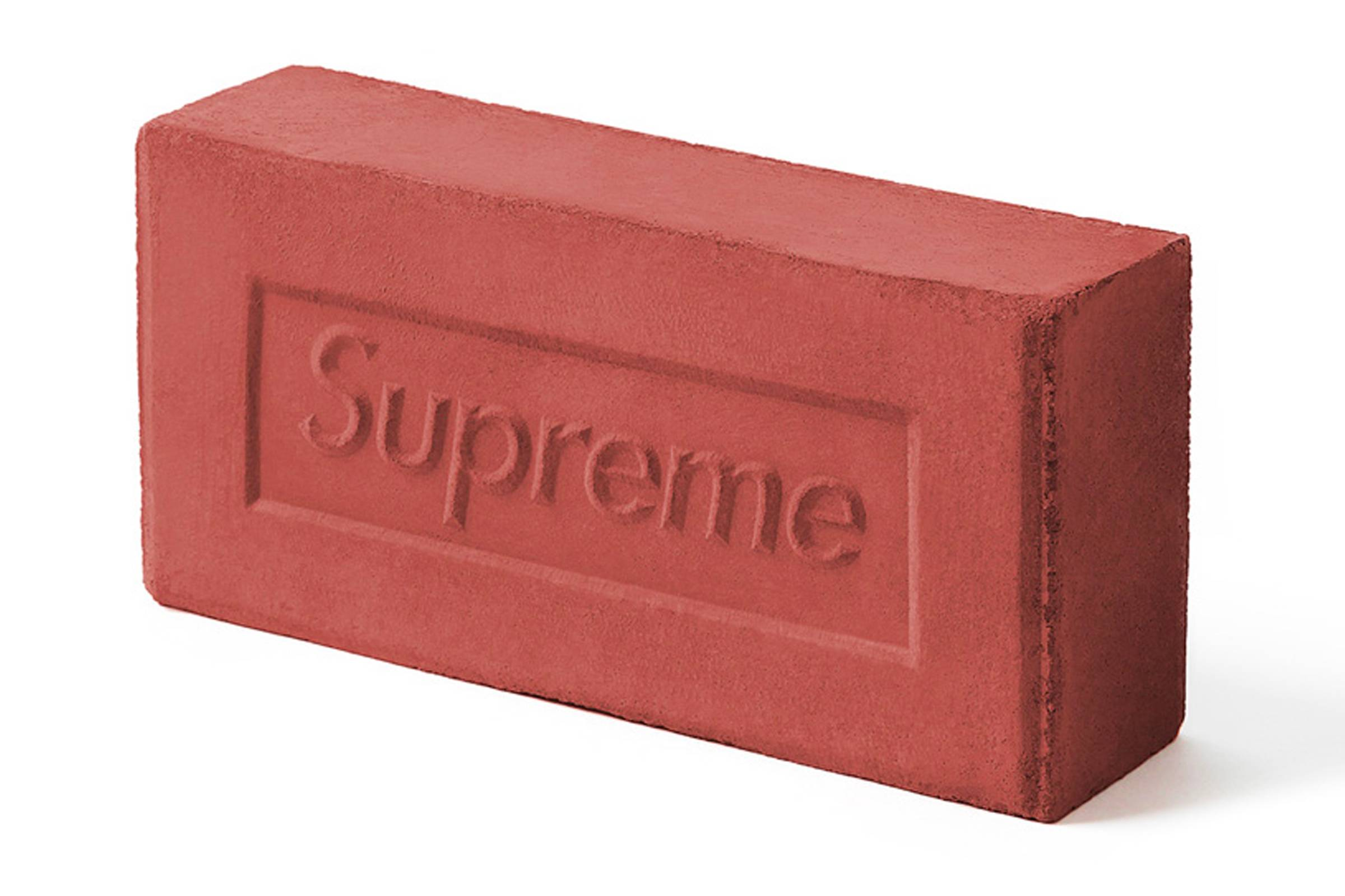 The Rebellious Nature Of Supreme S Brand Would Lead One To Think That This Accessory Was Symbolic For Something Like Throwing A Brick Through Window