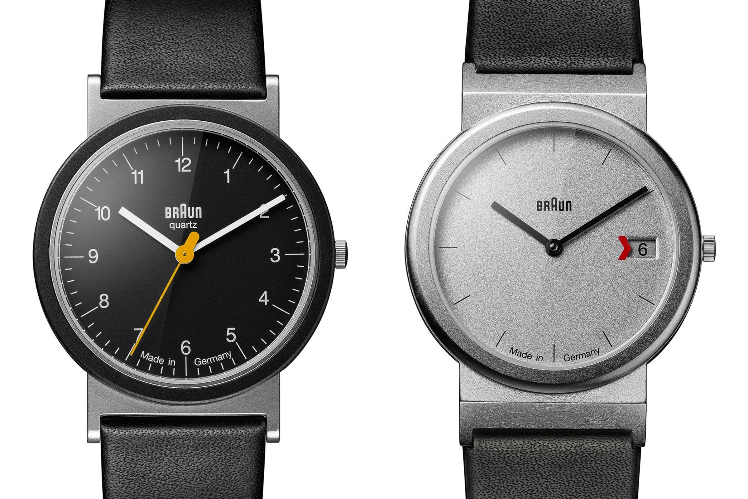 Braun AW 10 and AW 50 Watches