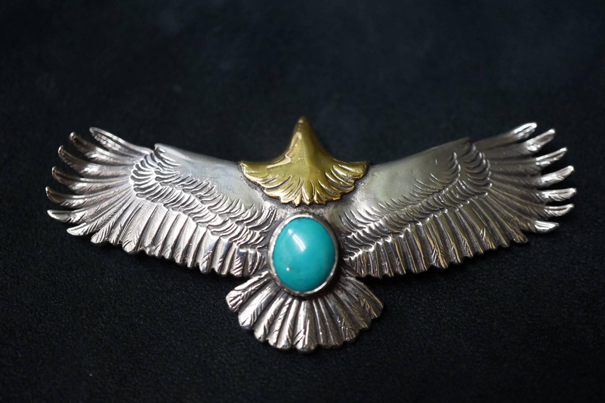 The Eagle Amulet, a Goro's signature