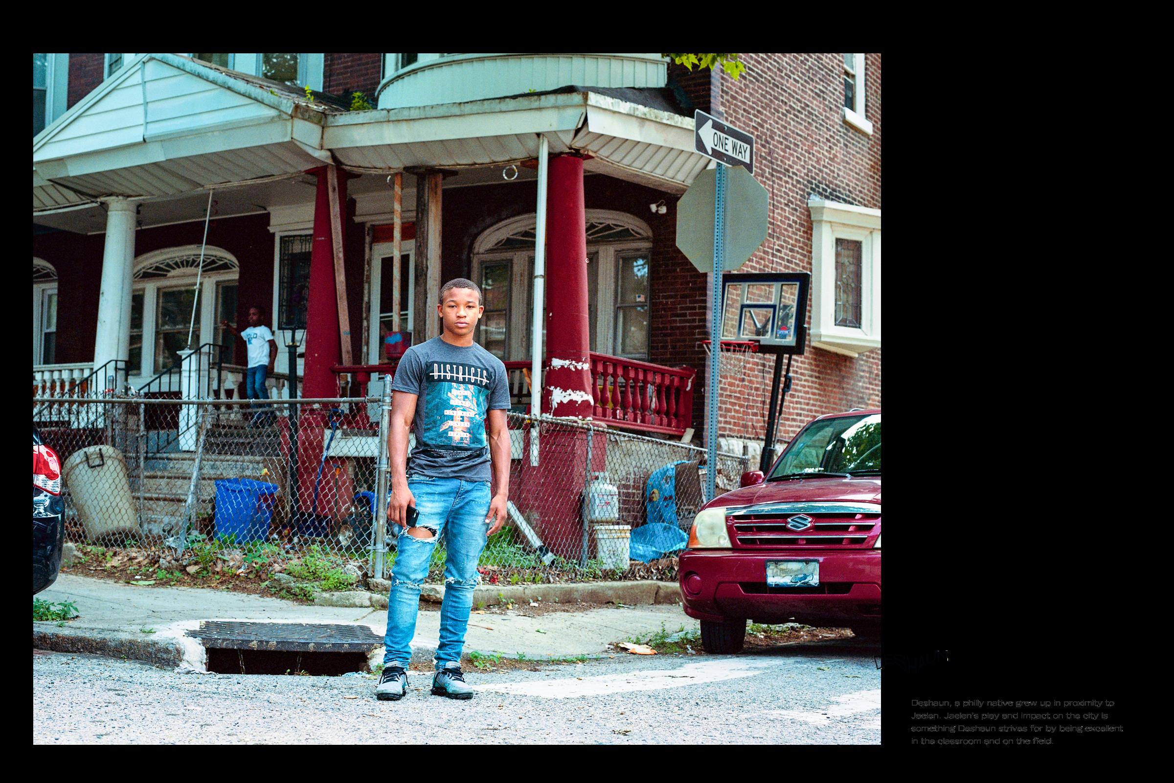 Deshaun, 15, Philadelphia, PA