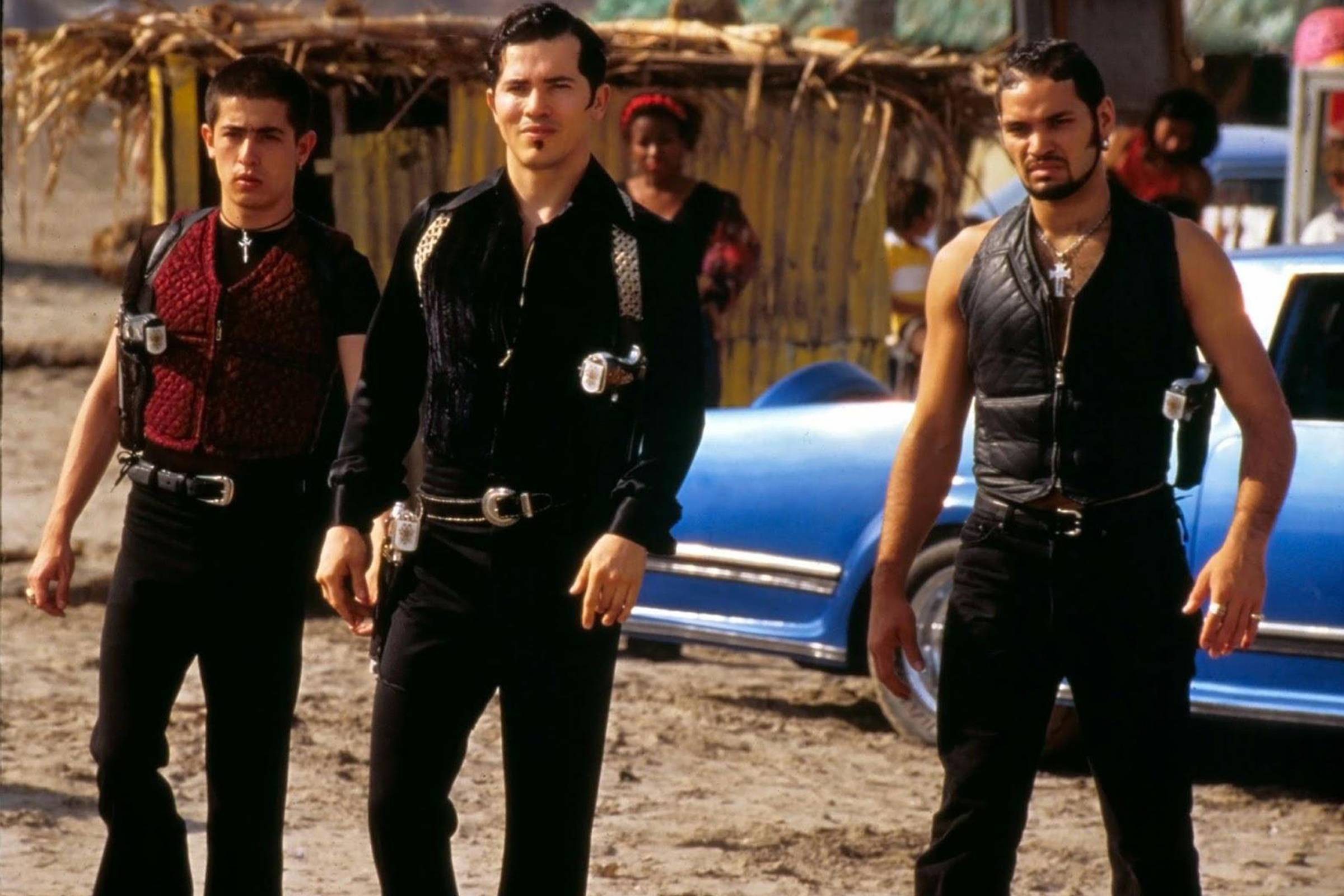 5d858309 Kym Barrett, the genius costume designer who brought Dolce to Verona,  envisioned the Capulet foes as the Irish Mob to their cartel. Before she  dressed Keanu ...