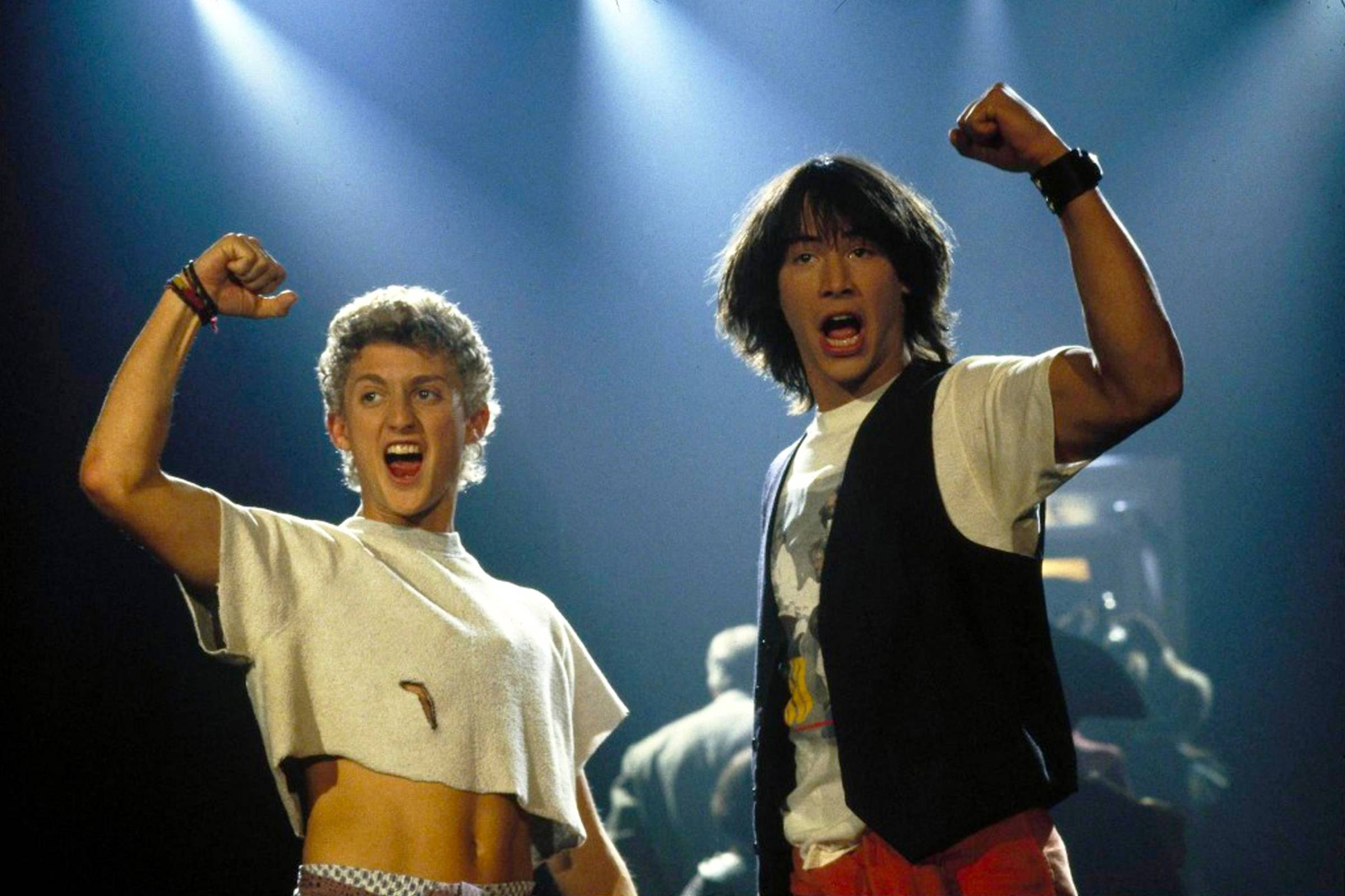 """Ted Theodore Logan (""""Bill & Ted's Excellent Adventure"""", 1989)"""