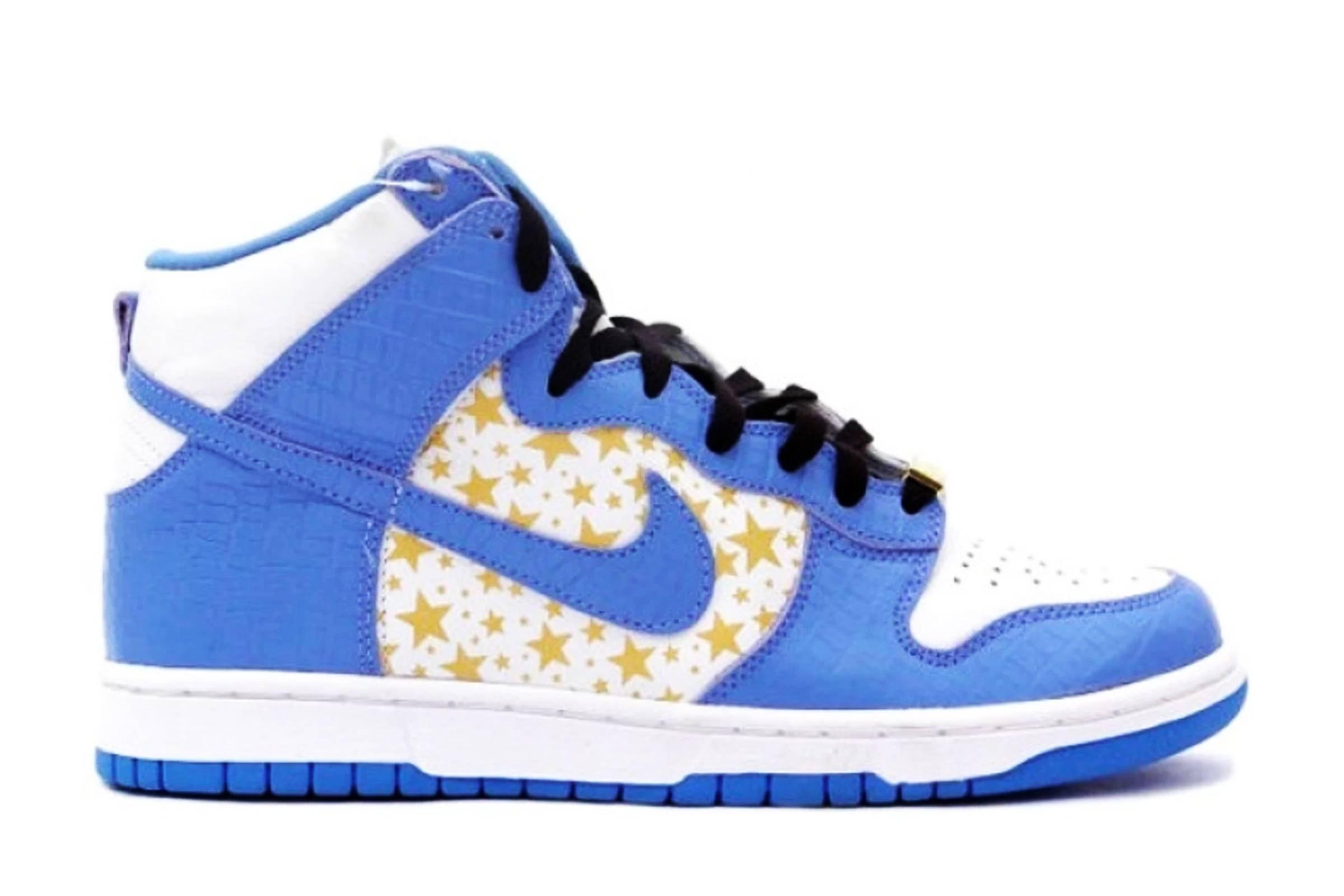 "Supreme x Nike SB Dunk High Pro ""Blue"""