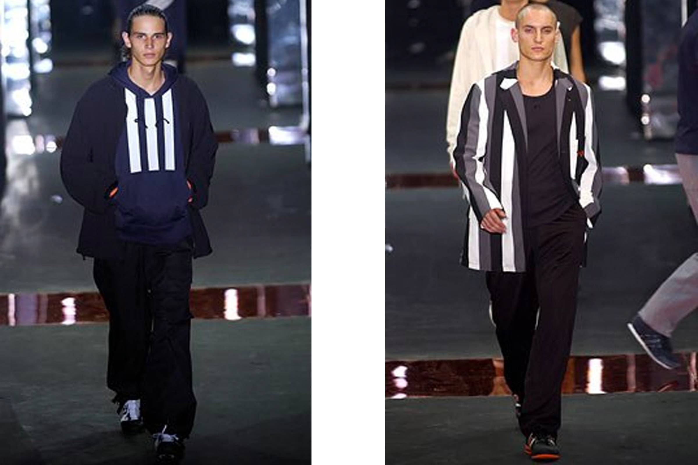 d33e74c0e Looks from Y-3 s inaugural collection during the Spring Summer 2003 season